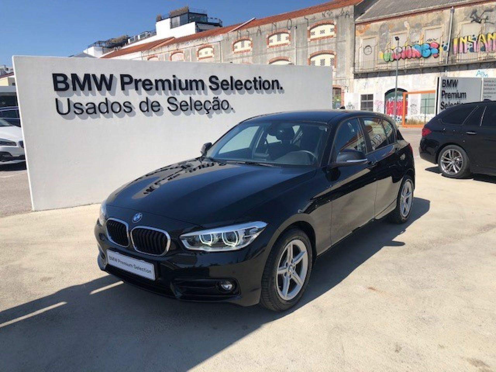 BMW Serie 1 116d GPS LED PDC segunda mão Lisboa