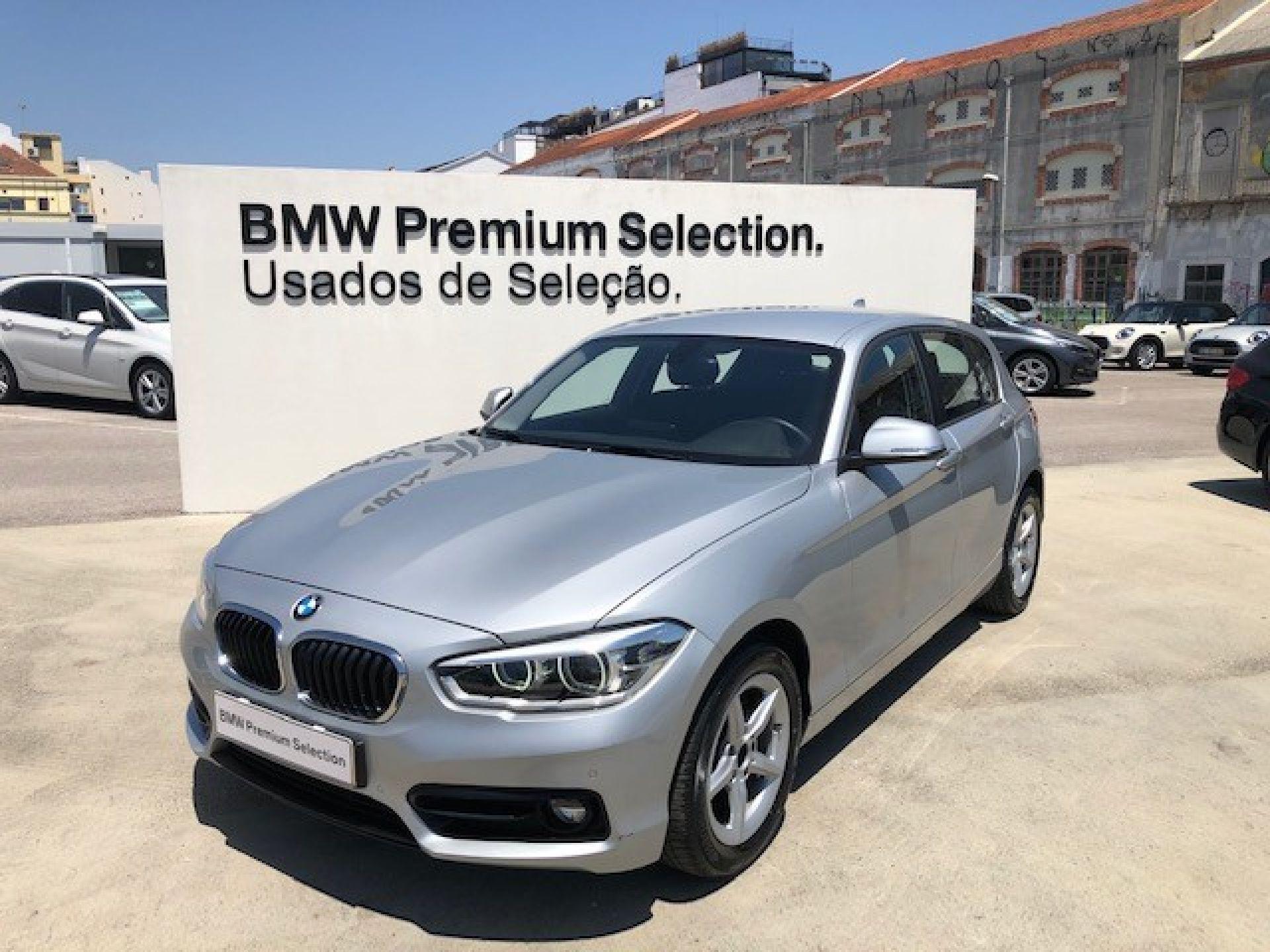 BMW Serie 1 116d Line Sport segunda mão Lisboa