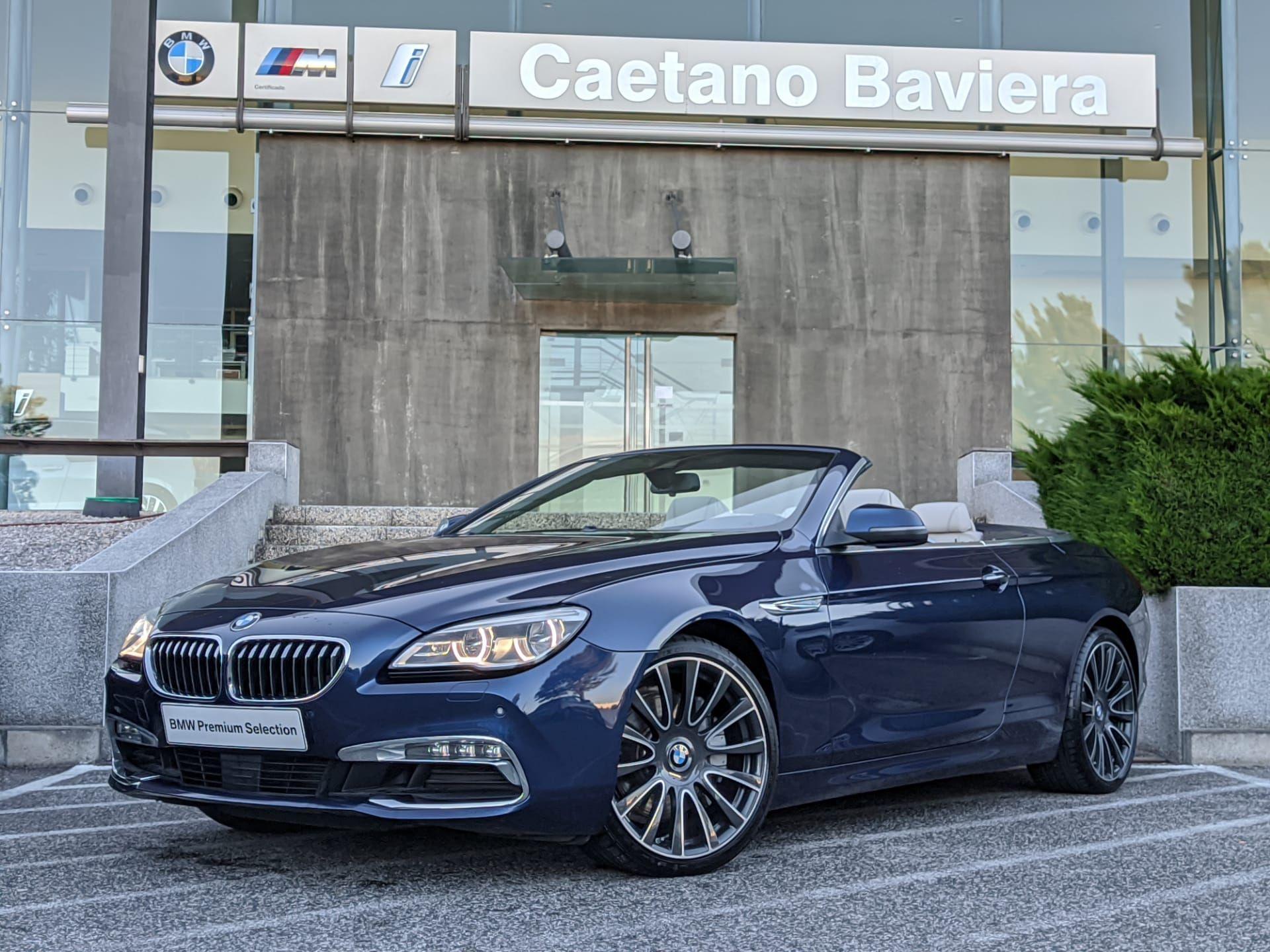 BMW Serie 6 640d Cabrio segunda mão Lisboa