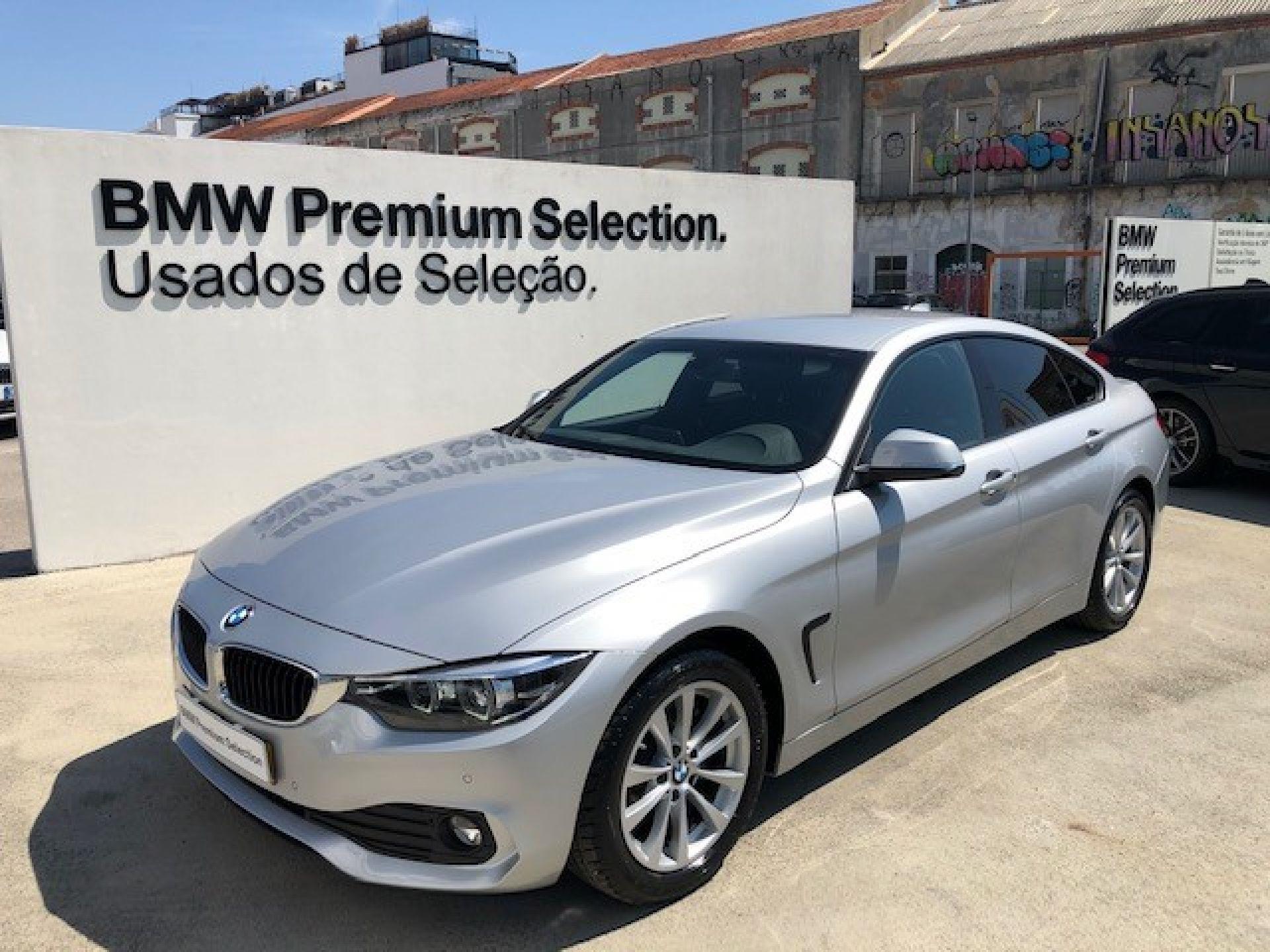 BMW Serie 4 418d Gran Coupe segunda mão Lisboa