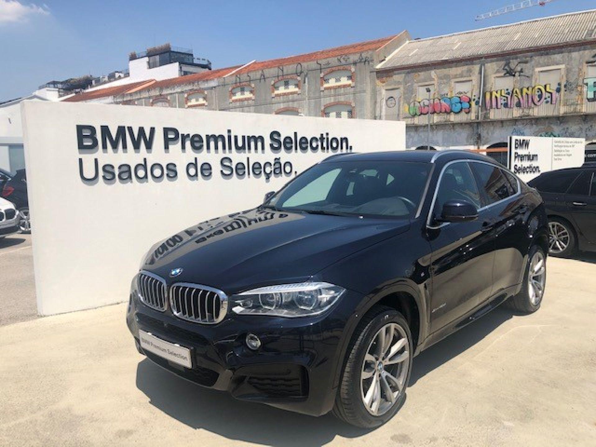BMW X6 xDrive40d segunda mão Lisboa