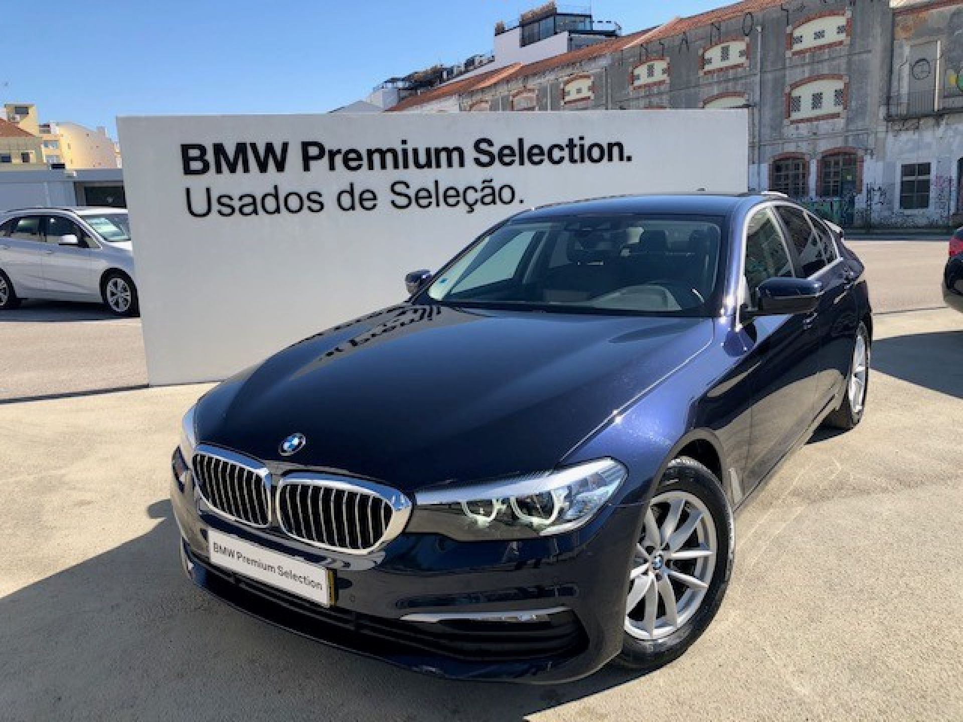 BMW Serie 5 520d Auto usada Lisboa