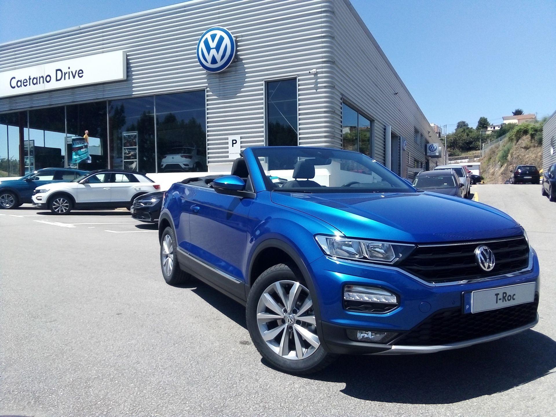 Volkswagen T-Roc 1.5 TSI 150cv STYLE segunda mão Porto