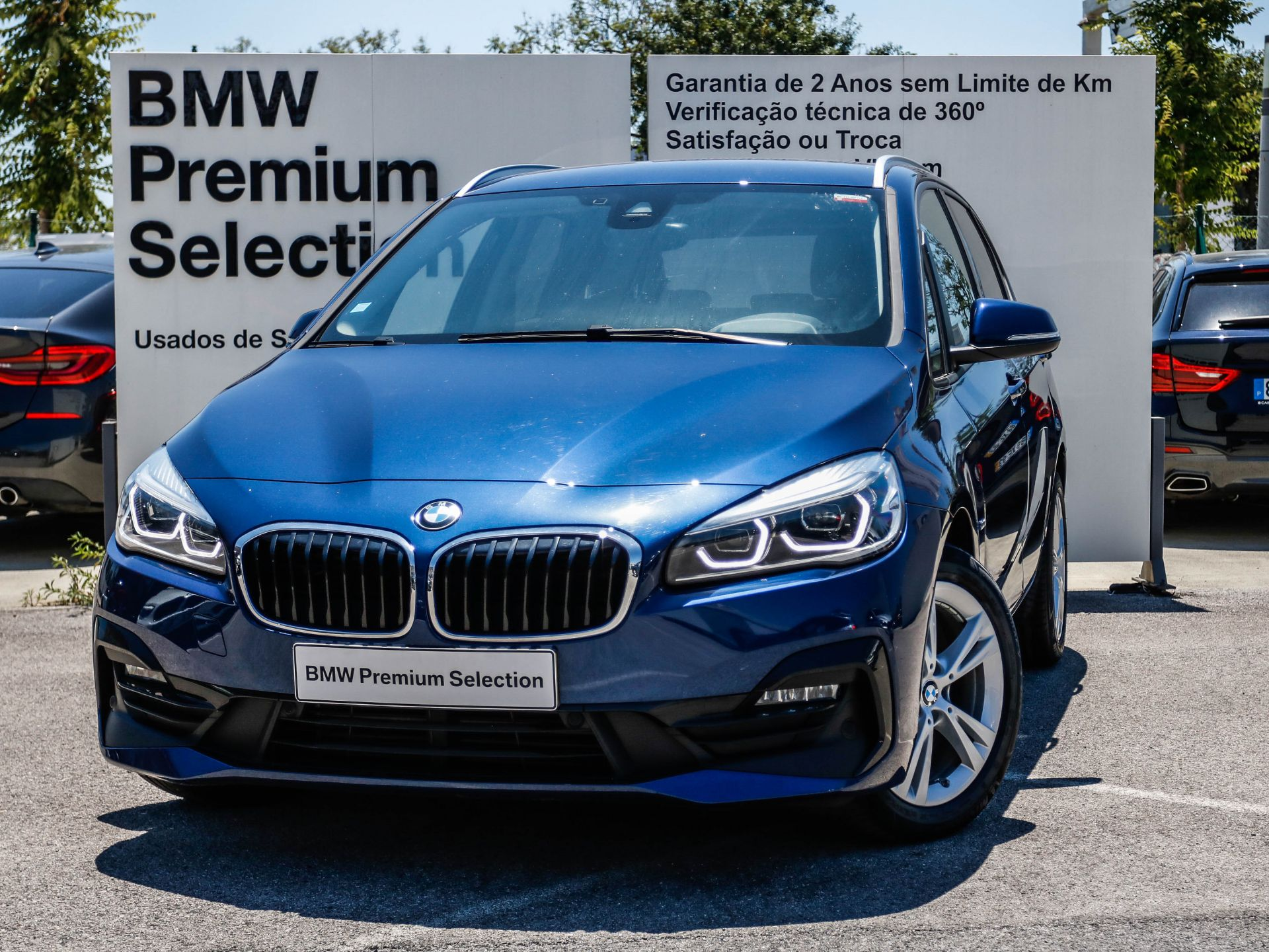 BMW Serie 2 Active Tourer 216d Auto segunda mão Lisboa
