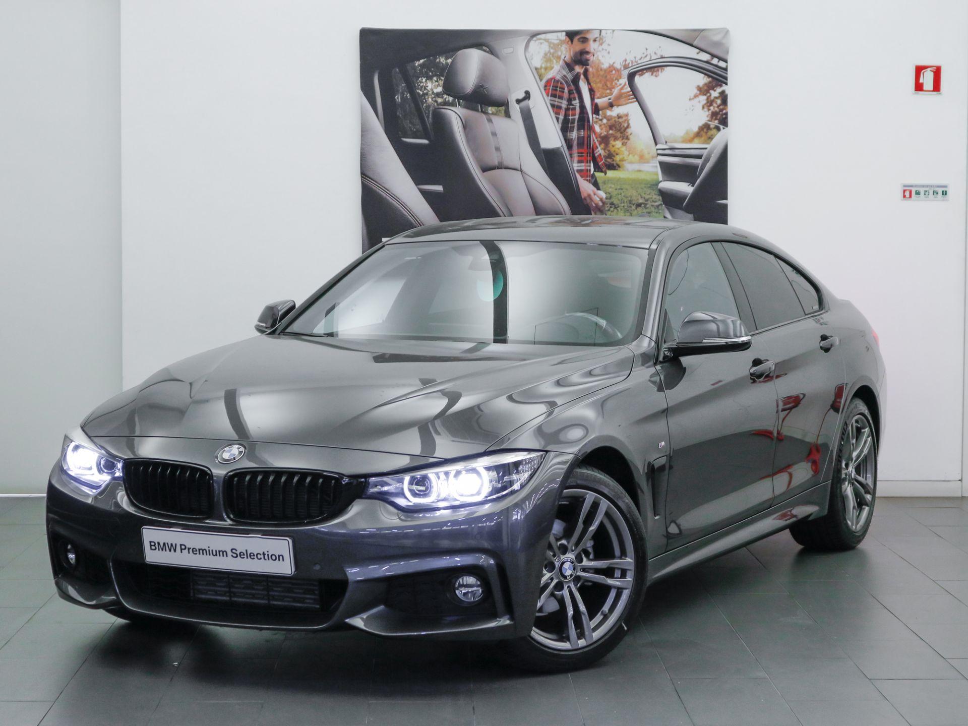 BMW Serie 4 418d Gran Coupe Auto Pack M segunda mão Lisboa