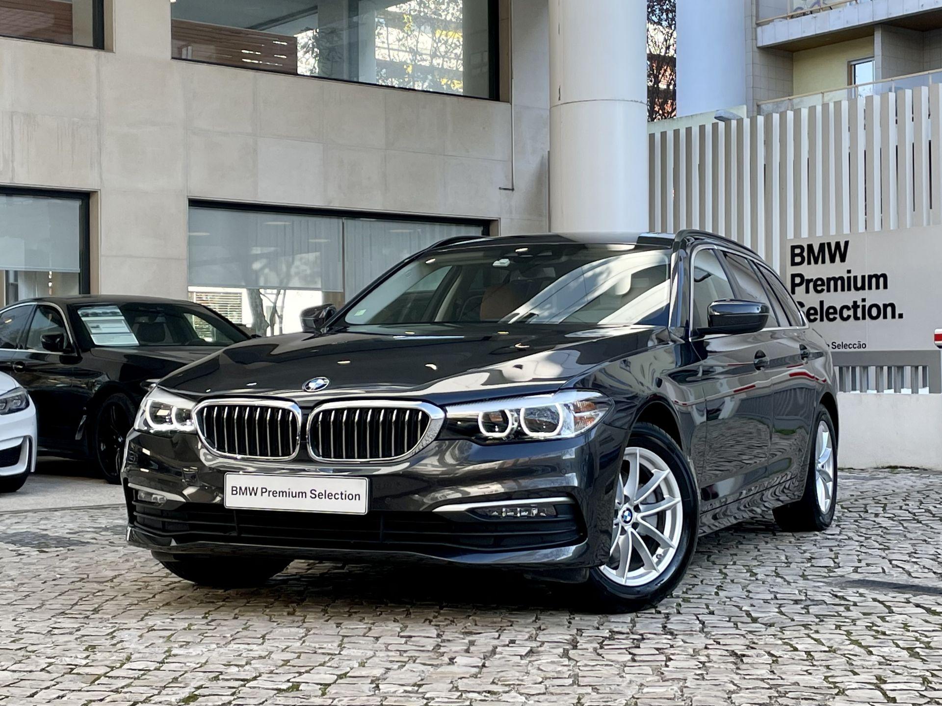 BMW Serie 5 520d Touring Auto segunda mão Lisboa
