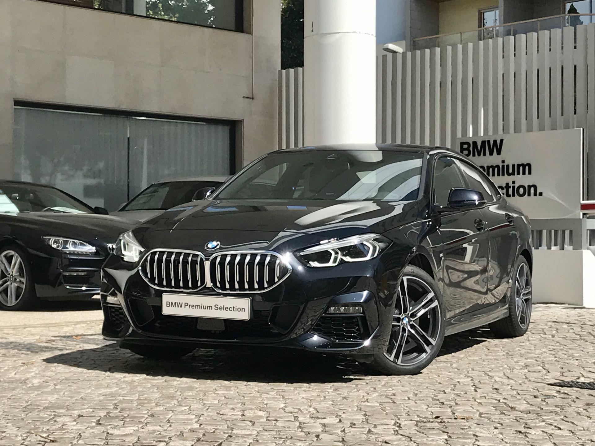 BMW Série 2 216d Gran Coupe Pack M segunda mão Lisboa
