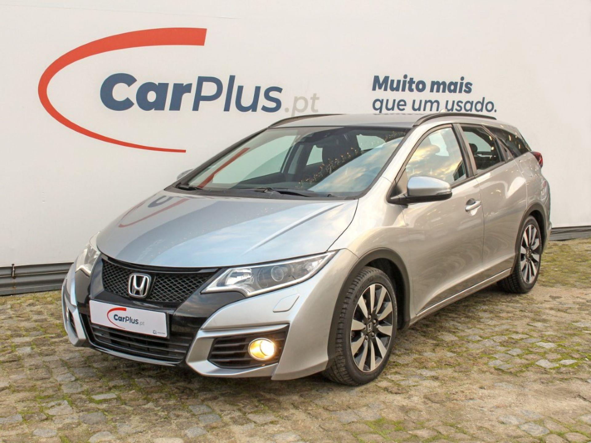 Honda Civic Tourer 1.6 i-DTEC Elegance Navi segunda mão Porto