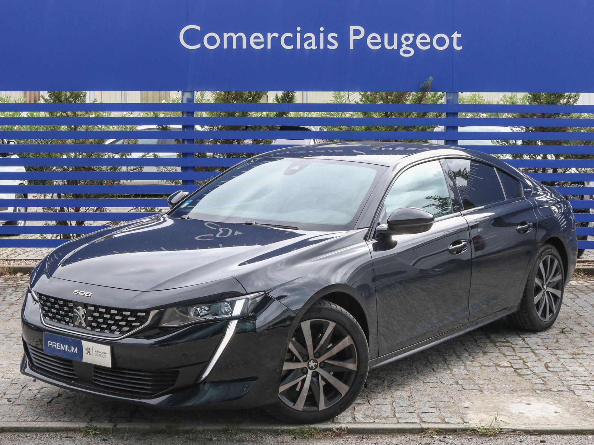 Peugeot 508 HYBRID 225cv e-EAT8 GT Line segunda mão Lisboa