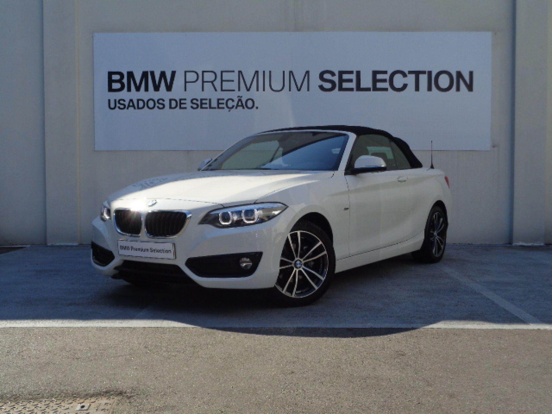 BMW Série 2 218d Cabrio Line Sport segunda mão Porto