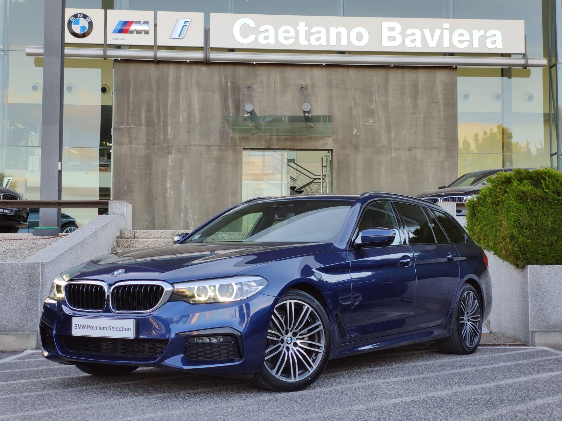 BMW Serie 5 520d Auto Touring Pack M segunda mão Lisboa