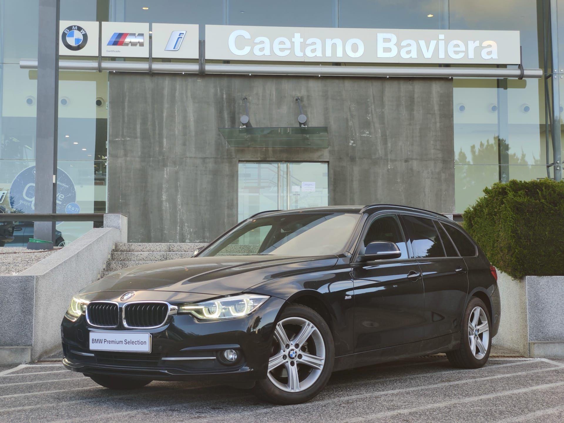 BMW Serie 3 318d Auto Touring Sport segunda mão Lisboa