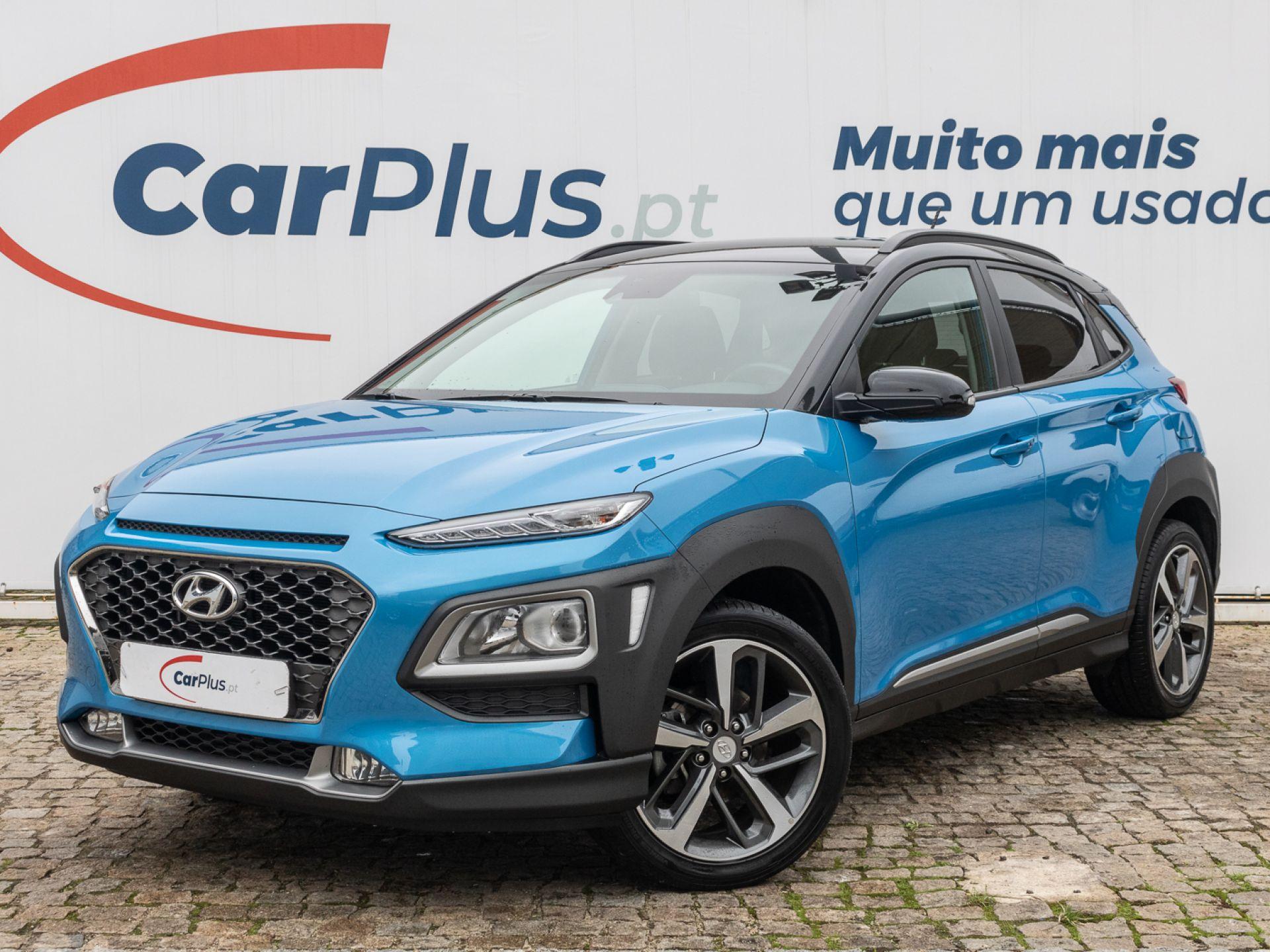 Hyundai Kauai 1.0 T-GDi Premium Tecido Preto segunda mão Lisboa