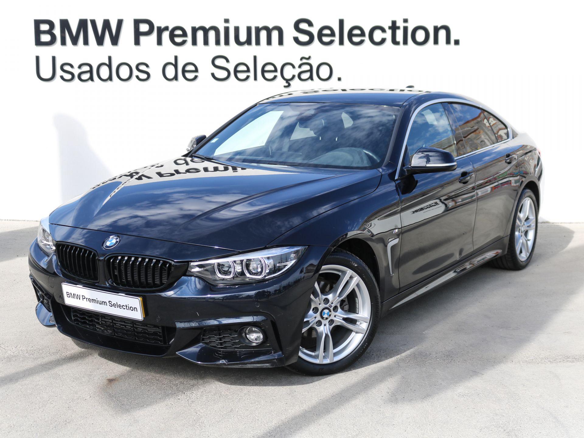 BMW Serie 4 420d Gran Coupe Auto segunda mão Lisboa