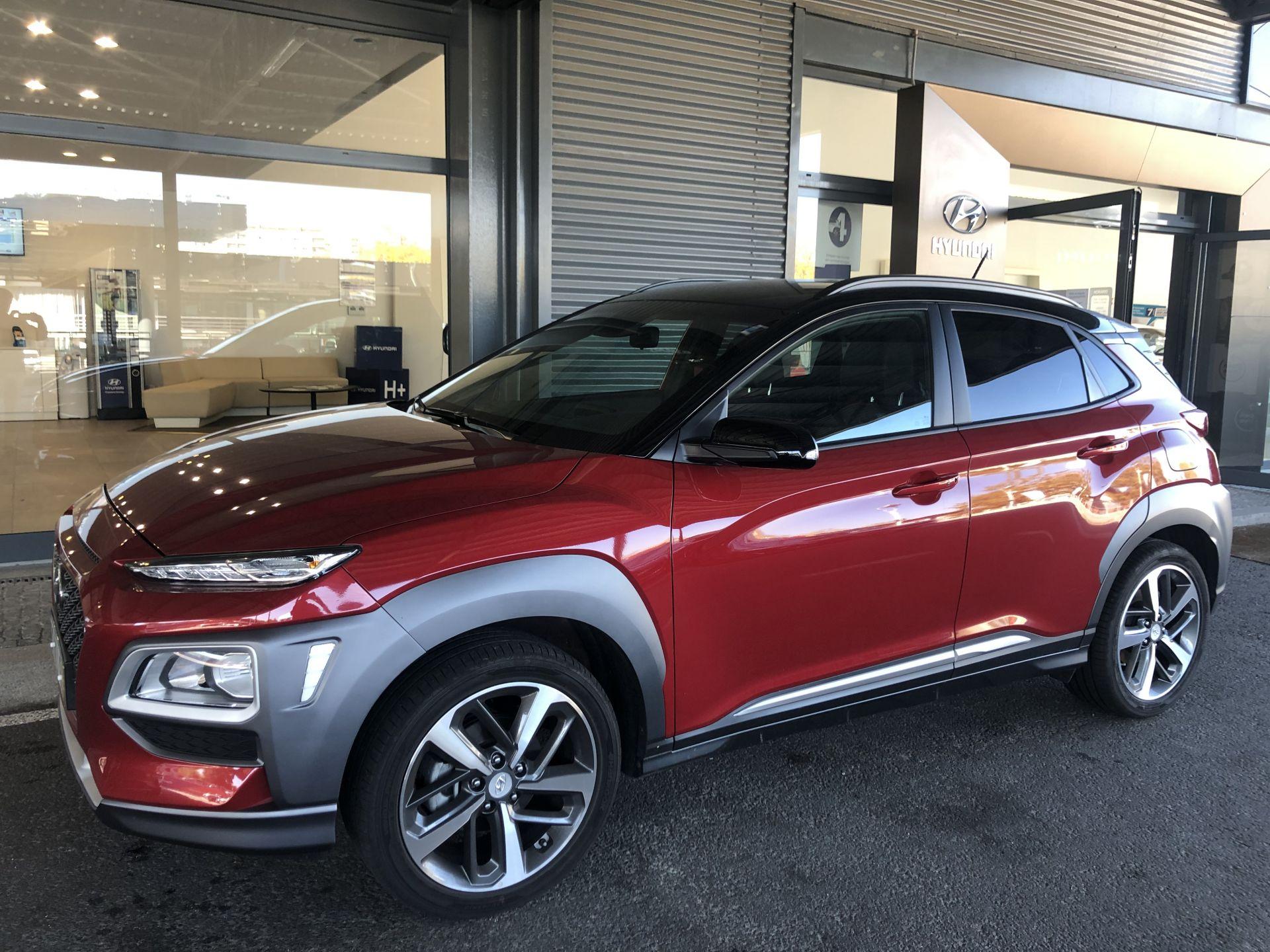 Hyundai Kauai 4X2 1.6 CRDi MY19 PREMIUM PELE/TEC. VERM  segunda mão Porto