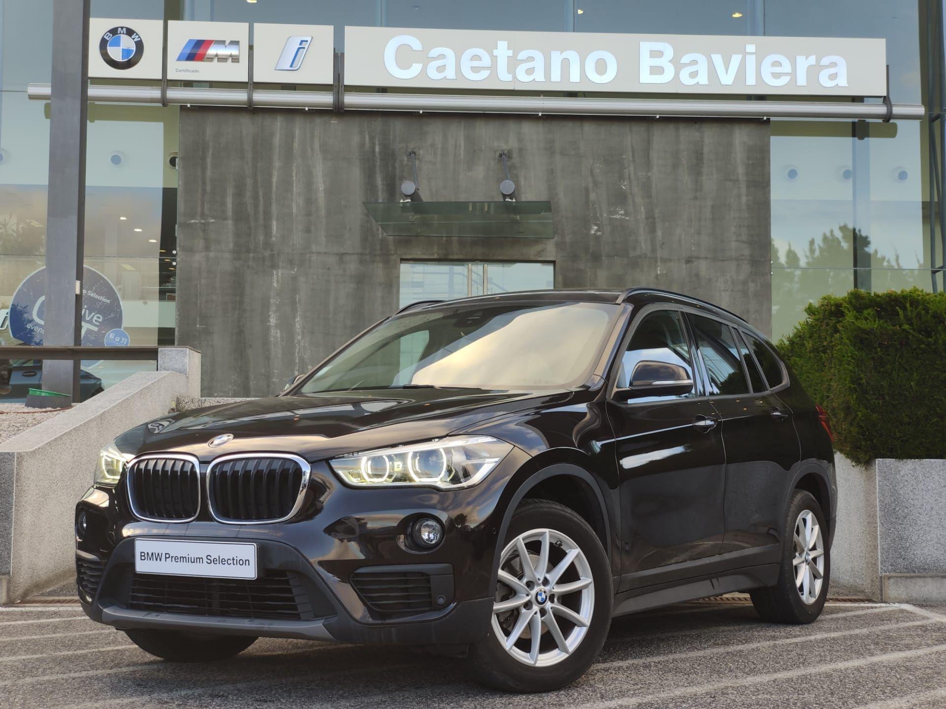 BMW X1 sDrive16d Tecto Camara LED segunda mão Lisboa