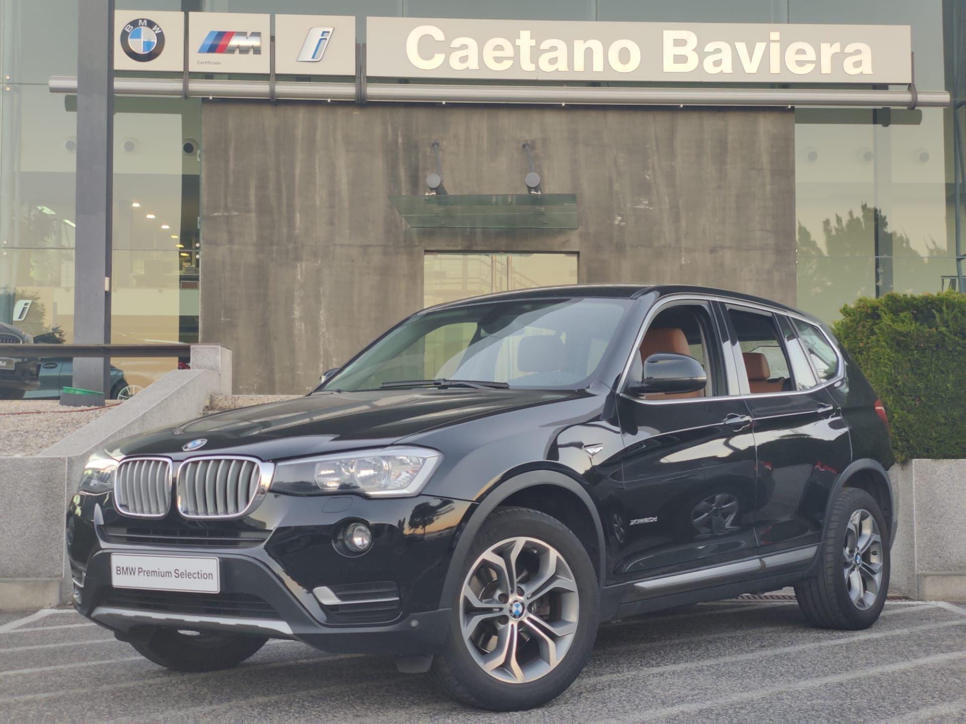 BMW X3 xDrive20d Auto xLine segunda mão Lisboa