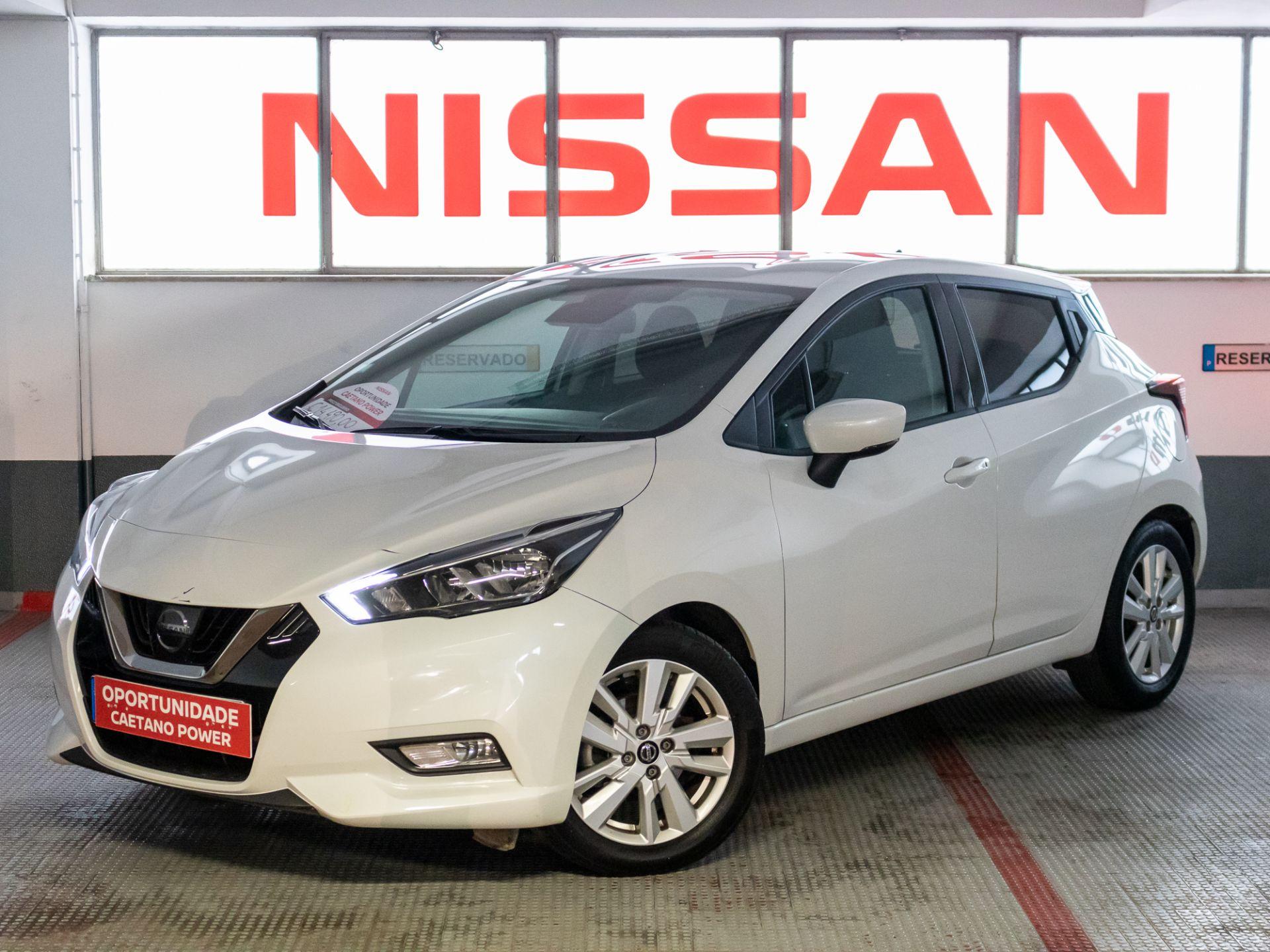 Nissan Micra IG-T 74 kW (100 CV) E6D N-Connecta segunda mão Lisboa