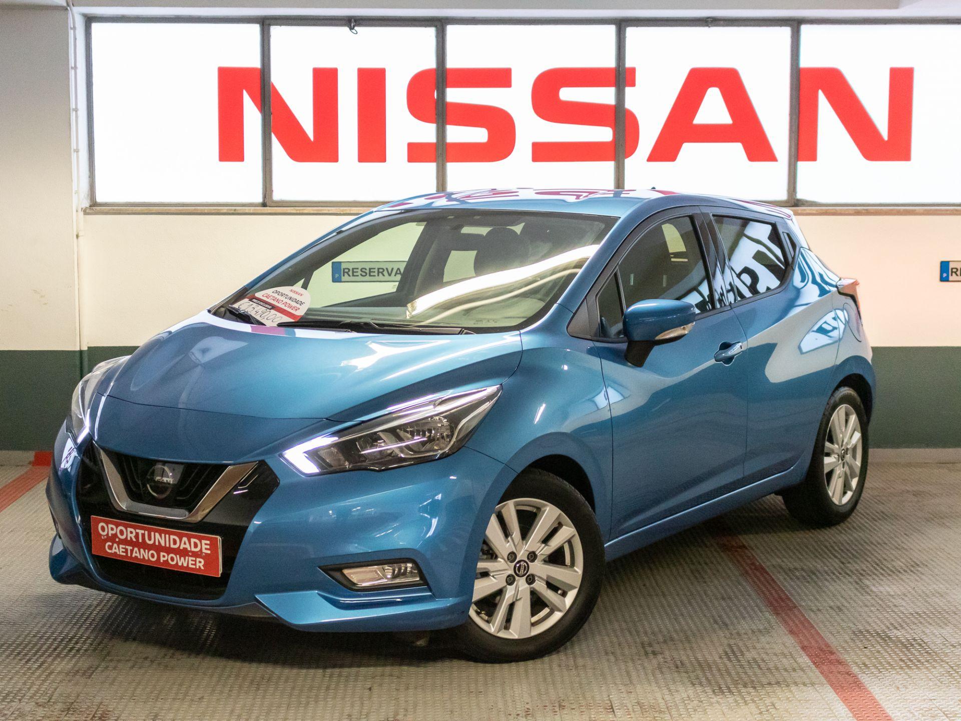 Nissan Micra IG-T 74 kW (100 CV) E6D Acenta Connect segunda mão Lisboa