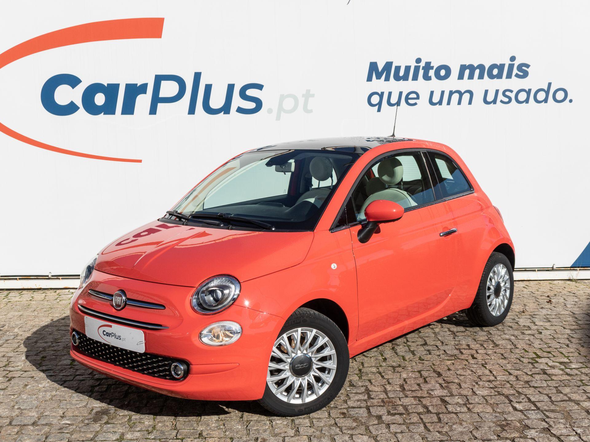 Fiat 500 1.2 8v 69cv Lounge segunda mão Lisboa