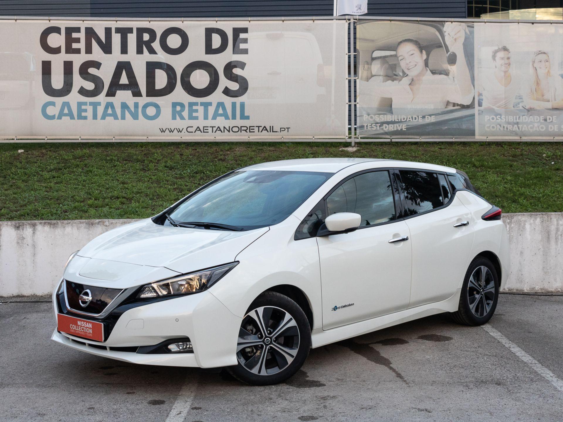 Nissan LEAF LEAF 5p 40kWh N-Connecta segunda mão Setúbal