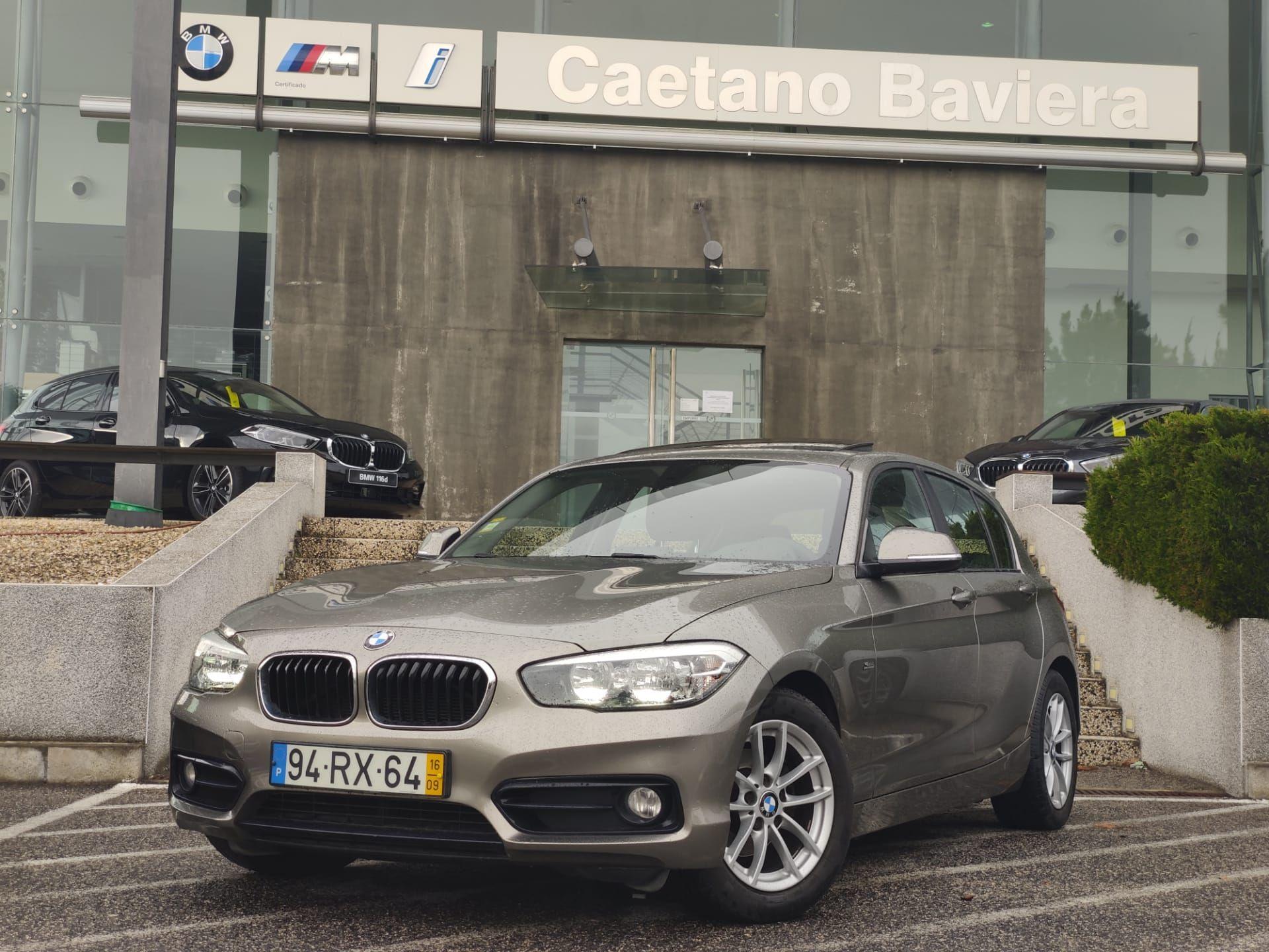BMW Serie 1 116d ED Line Sport segunda mão Lisboa