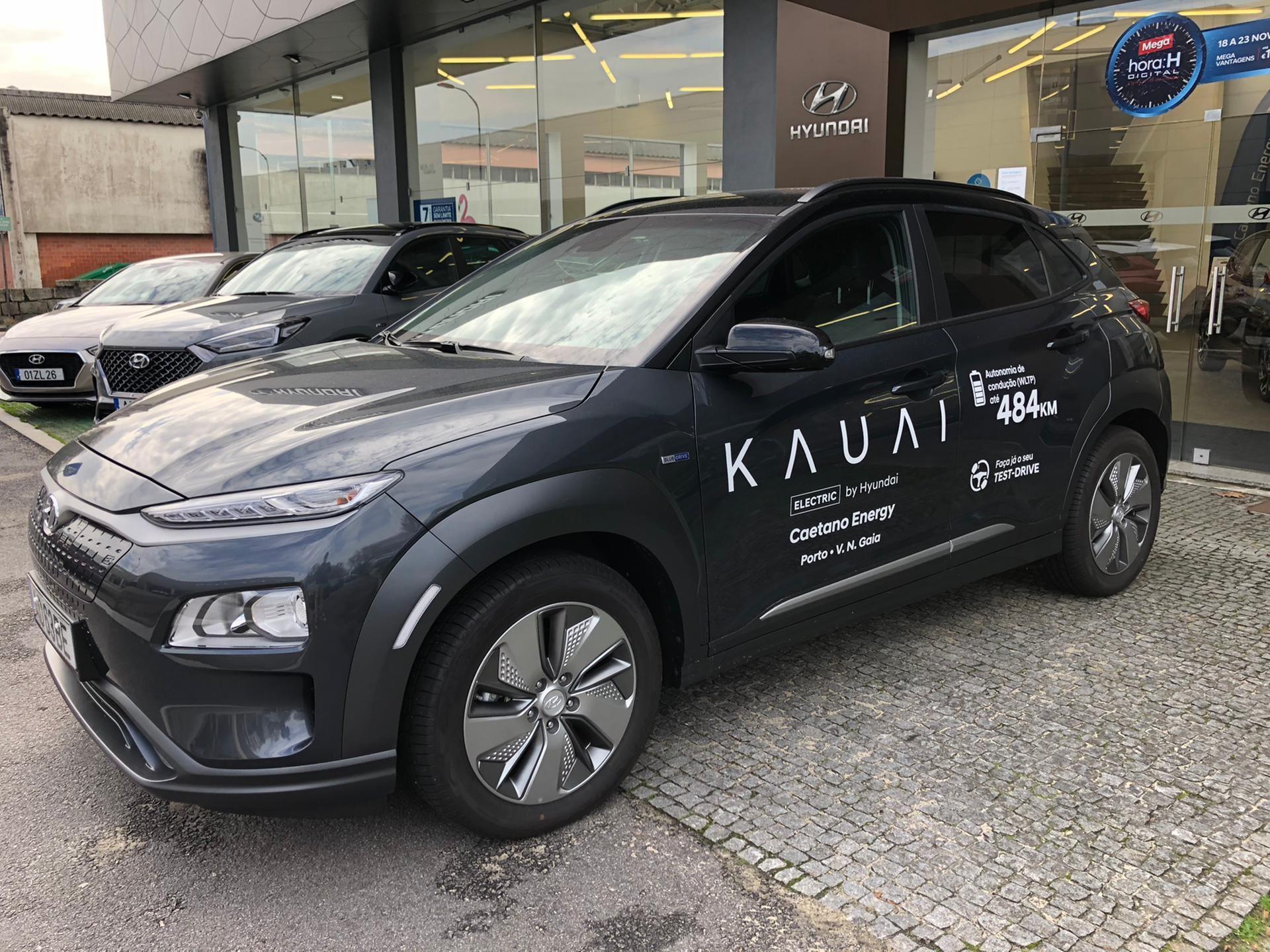 Hyundai Kauai Premium EV 64kw MY20 segunda mão Porto
