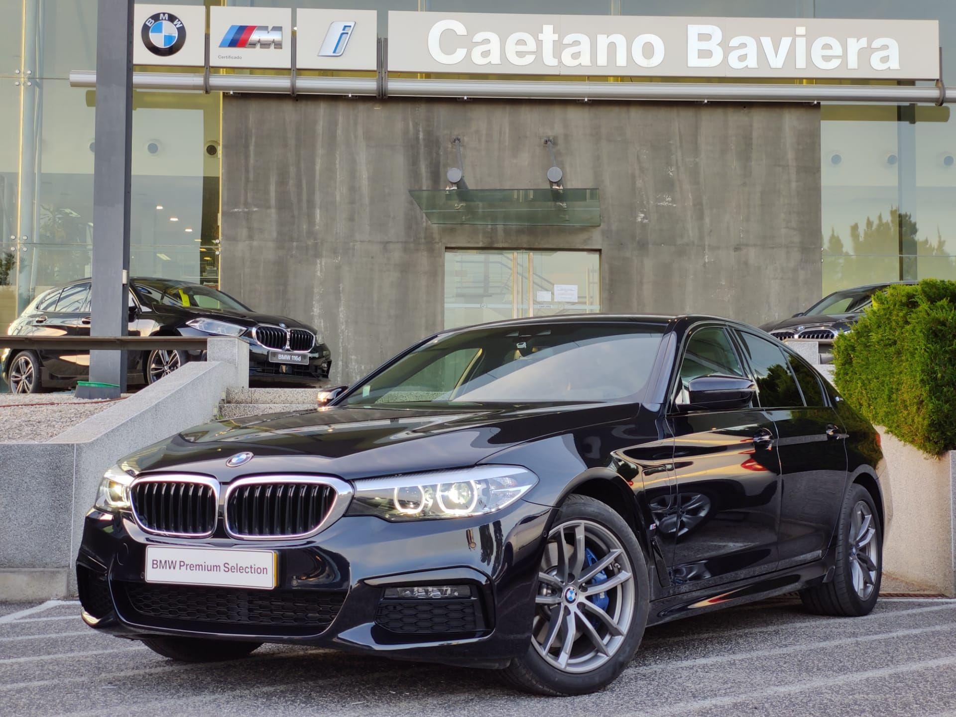 BMW Serie 5 530e Pack M segunda mão Lisboa