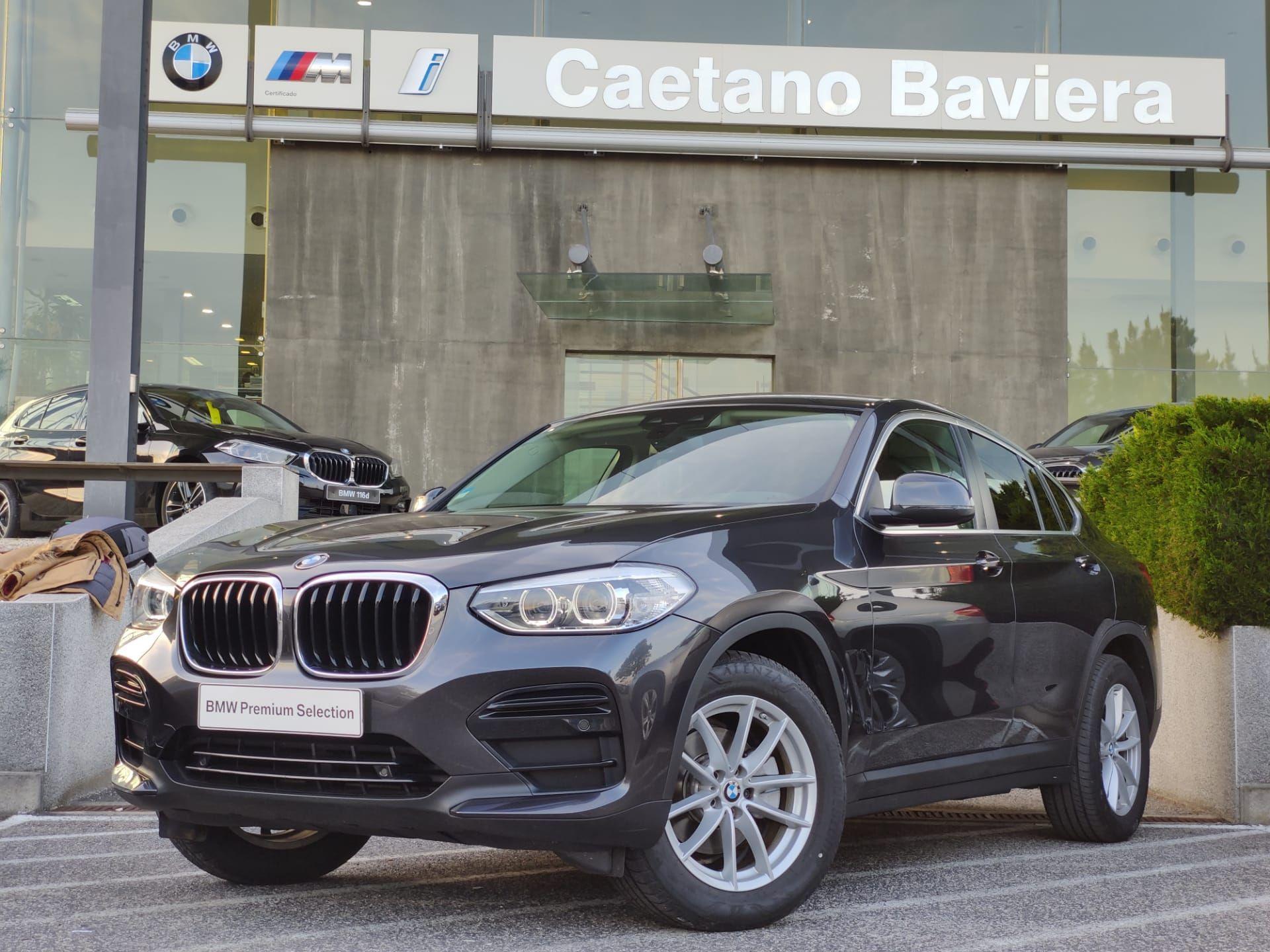BMW X4 xDrive20d Auto segunda mão Lisboa