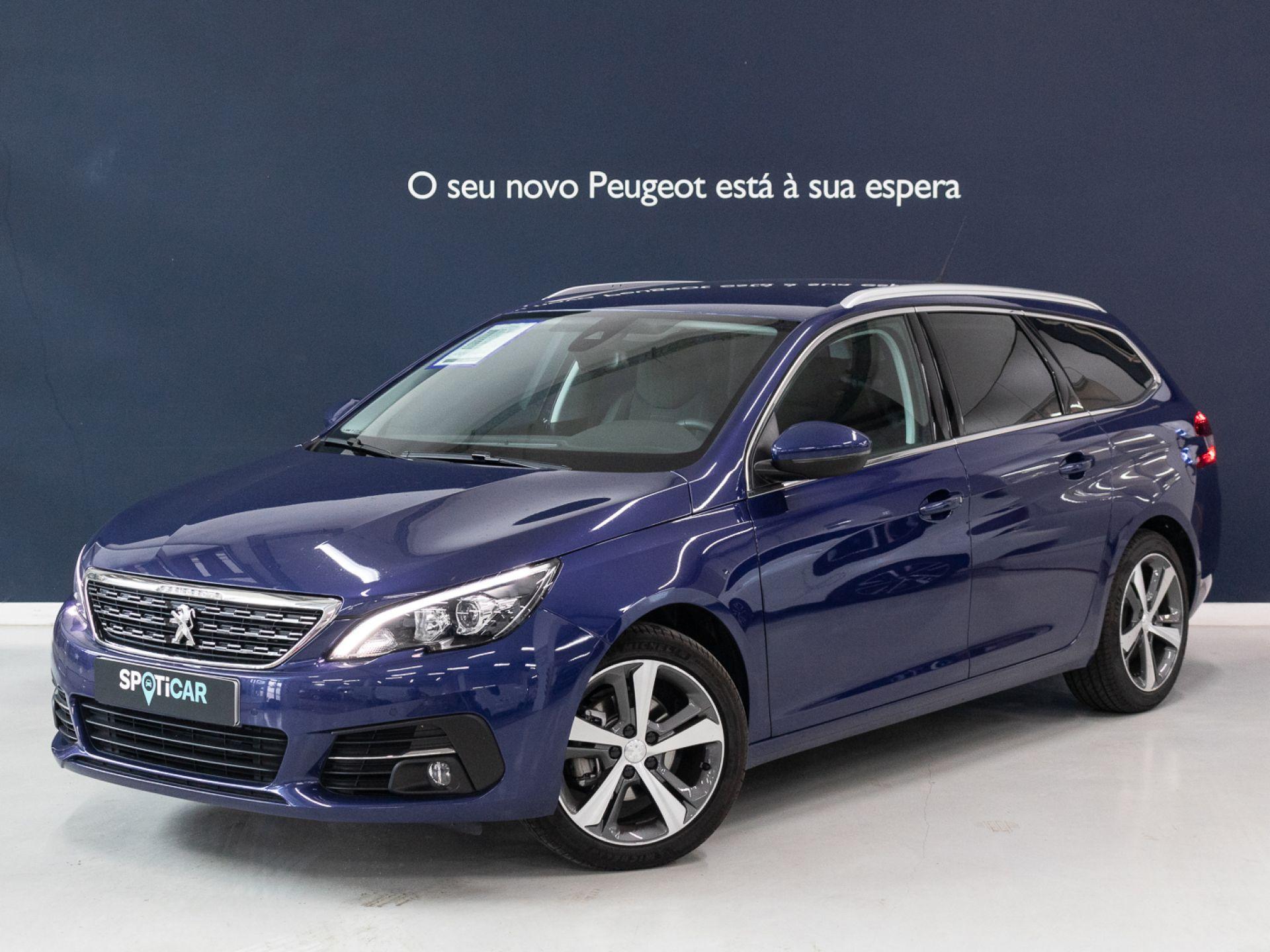 Peugeot 308 SW Allure 1.5 BlueHDi 130cv Eu 6.2d CVM6 SW segunda mão Setúbal