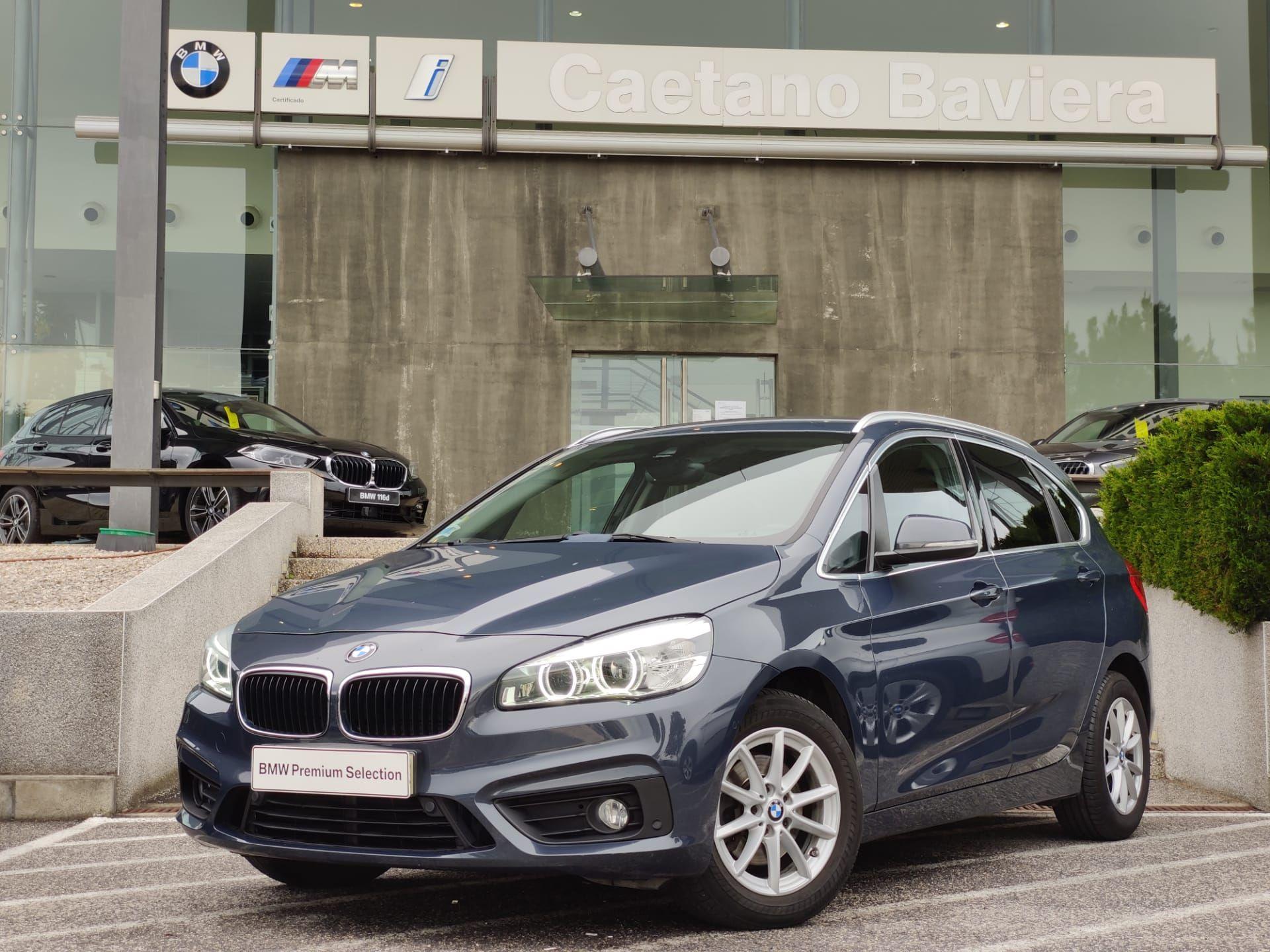 BMW Serie 2 Active Tourer 216d Advantage GPS segunda mão Lisboa