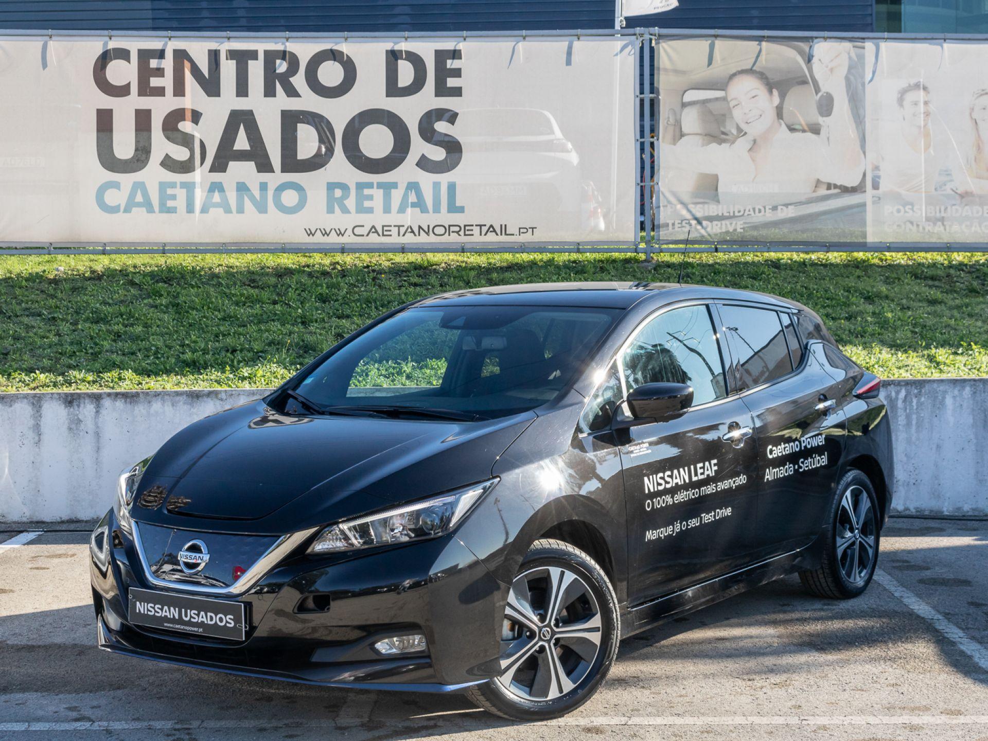 Nissan LEAF LEAF 5p 62 kWh e+ N-Connecta segunda mão Setúbal