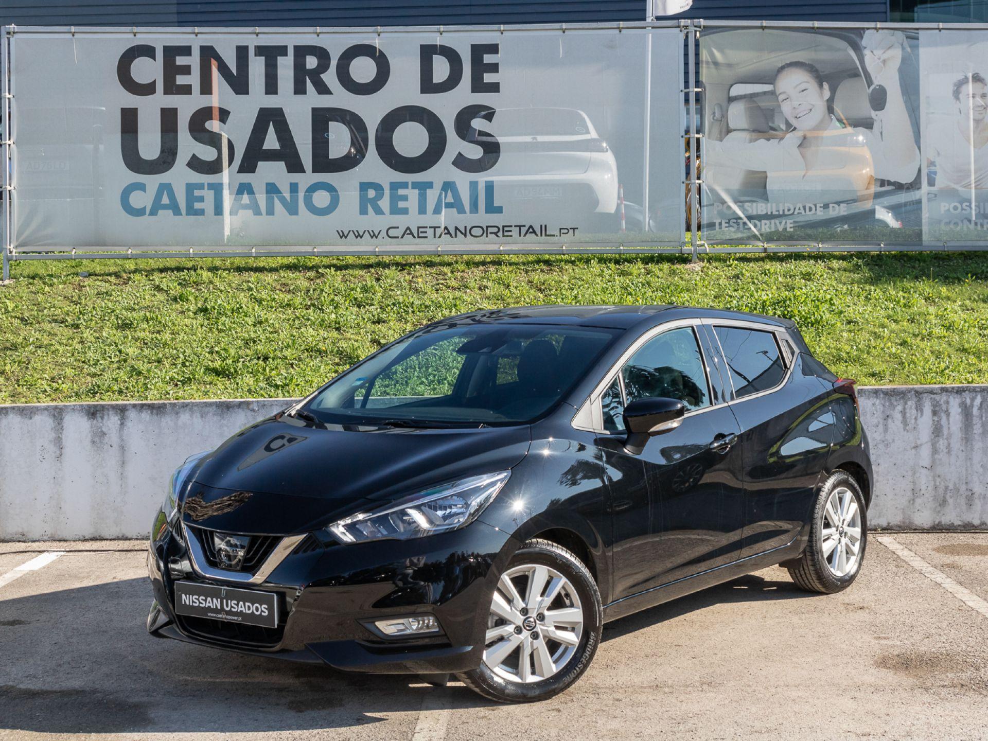 Nissan Micra IG-T 100CV E6D Acenta segunda mão Setúbal