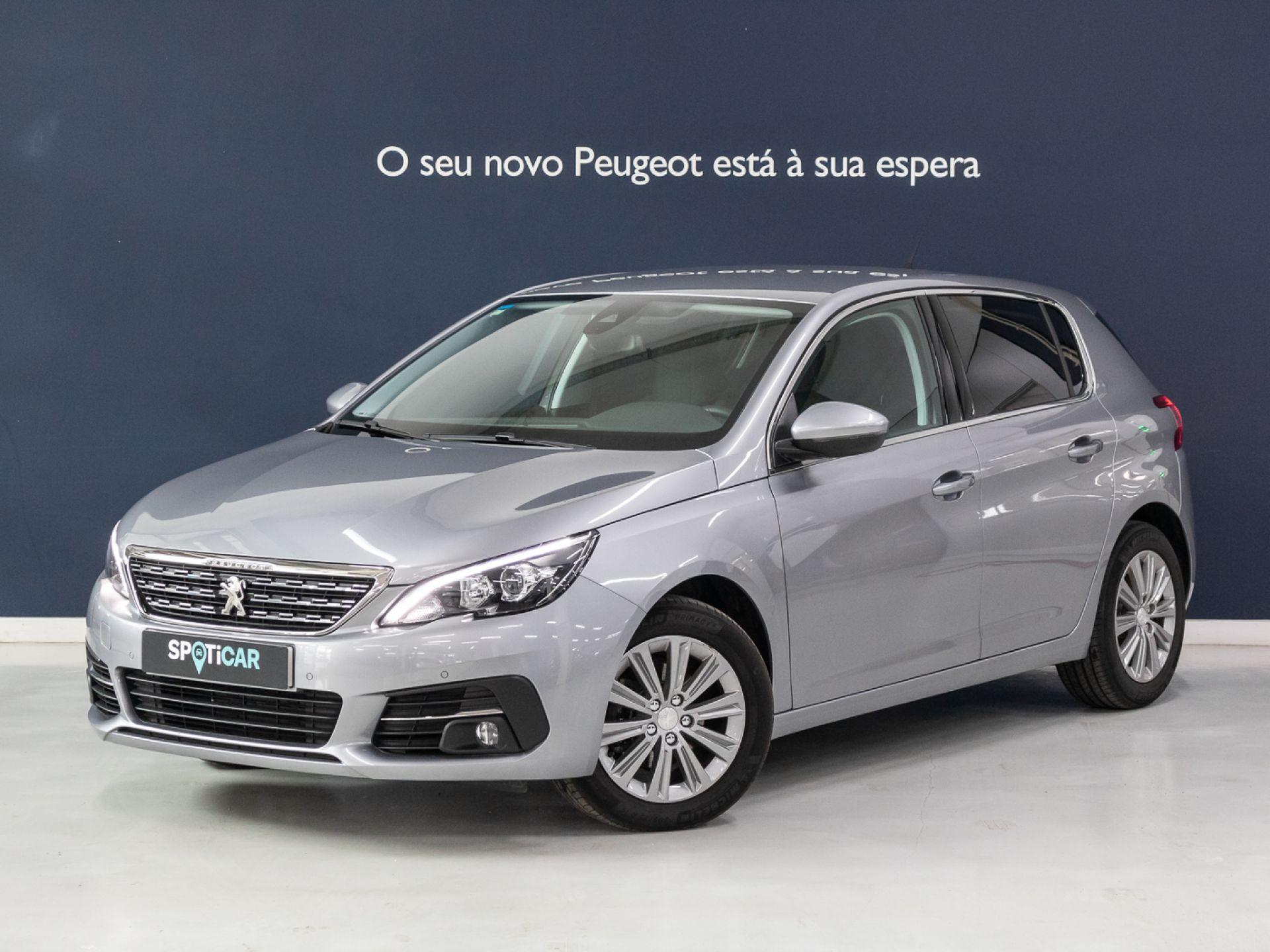 Peugeot 308 Allure 1.5 BlueHDi 130 cv segunda mão Setúbal
