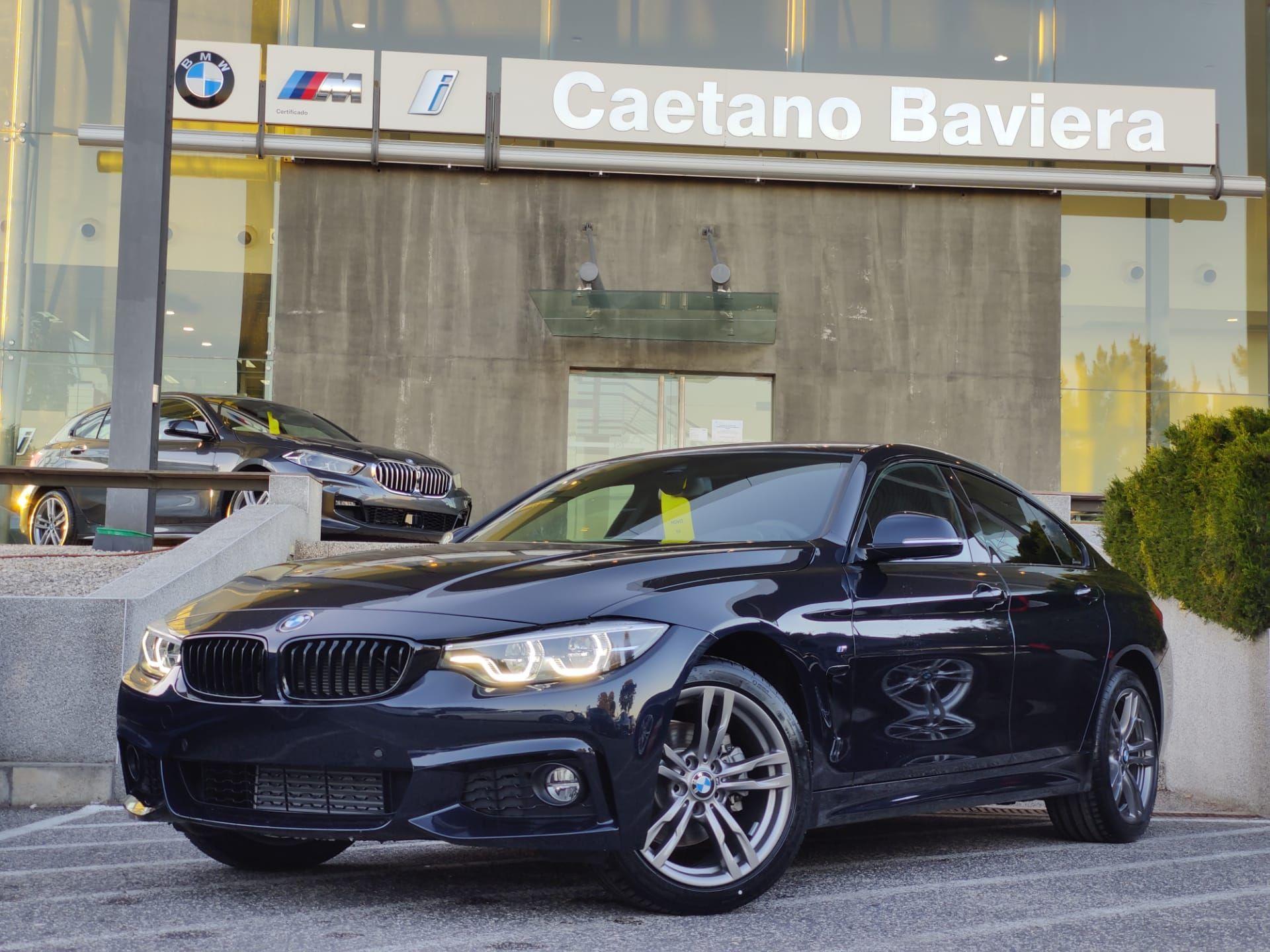 BMW Serie 4 420d Auto Pack M segunda mão Lisboa