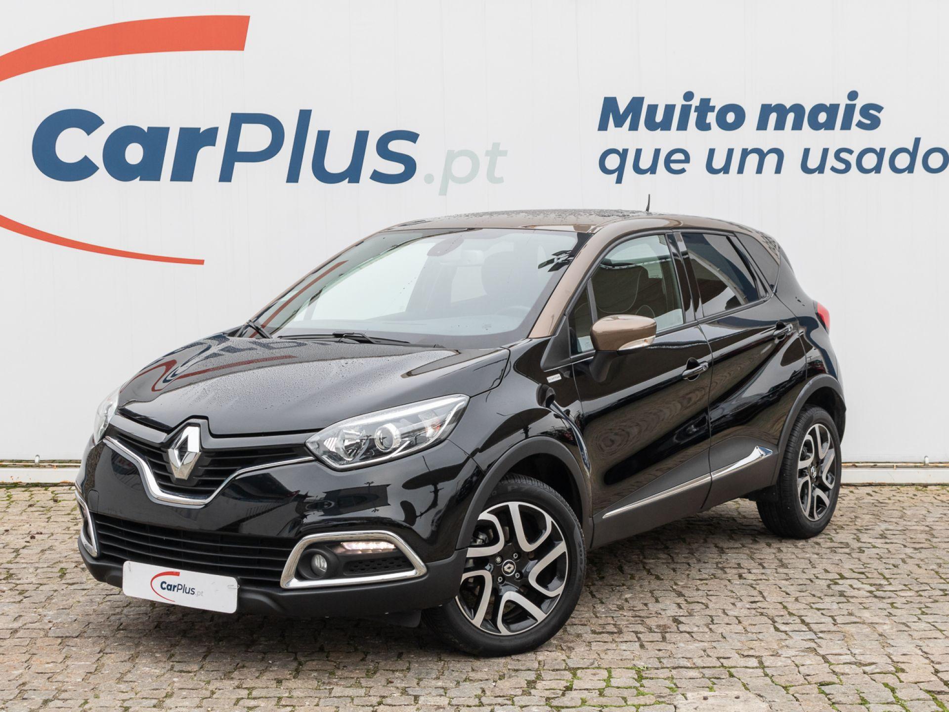 Renault Captur 1.5 dCi 110cv S&S Energy ECO2 Exclusive segunda mão Lisboa
