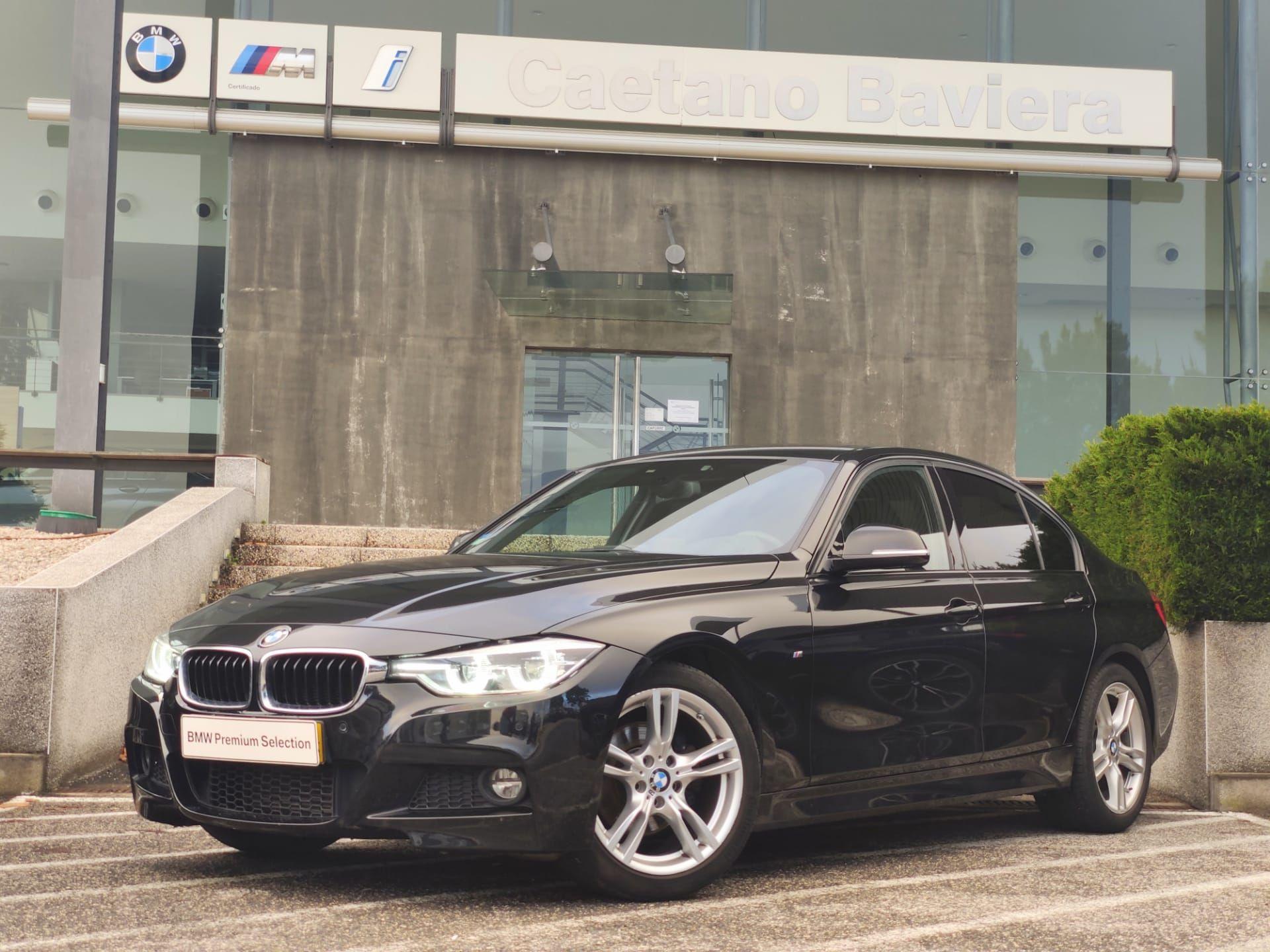 BMW Serie 3 320d Auto Berlina Pack M segunda mão Lisboa