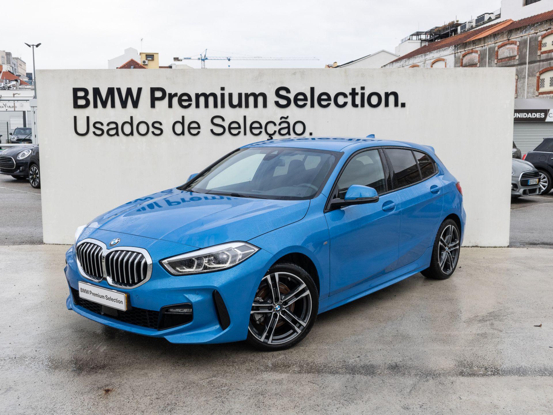 BMW Serie 1 116d Auto Pack M segunda mão Lisboa