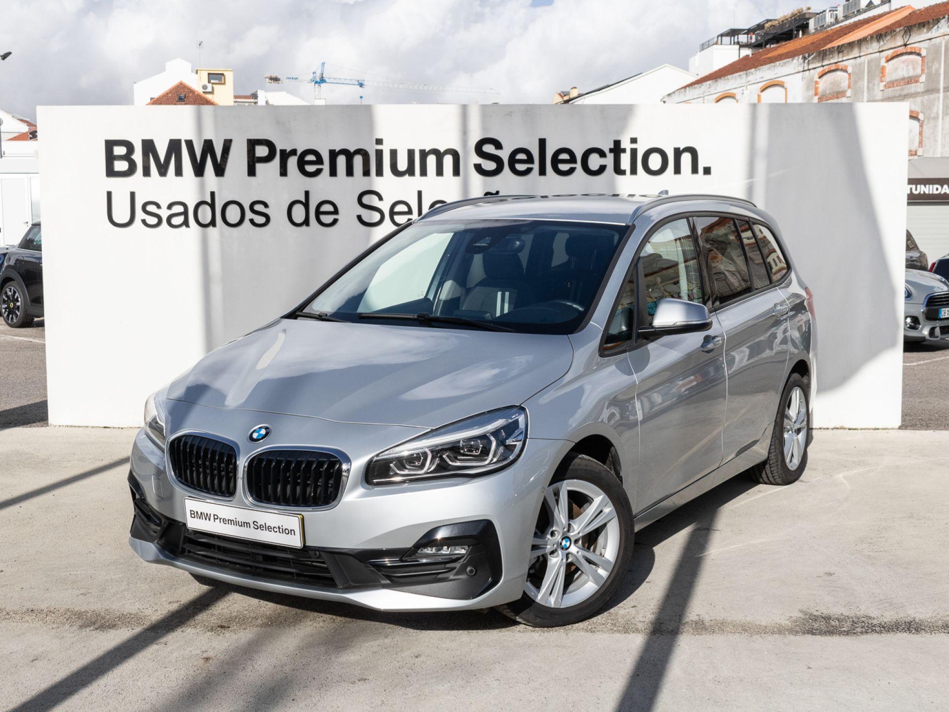 BMW Serie 2 Gran Tourer 216d 7 Lugares  segunda mão Lisboa