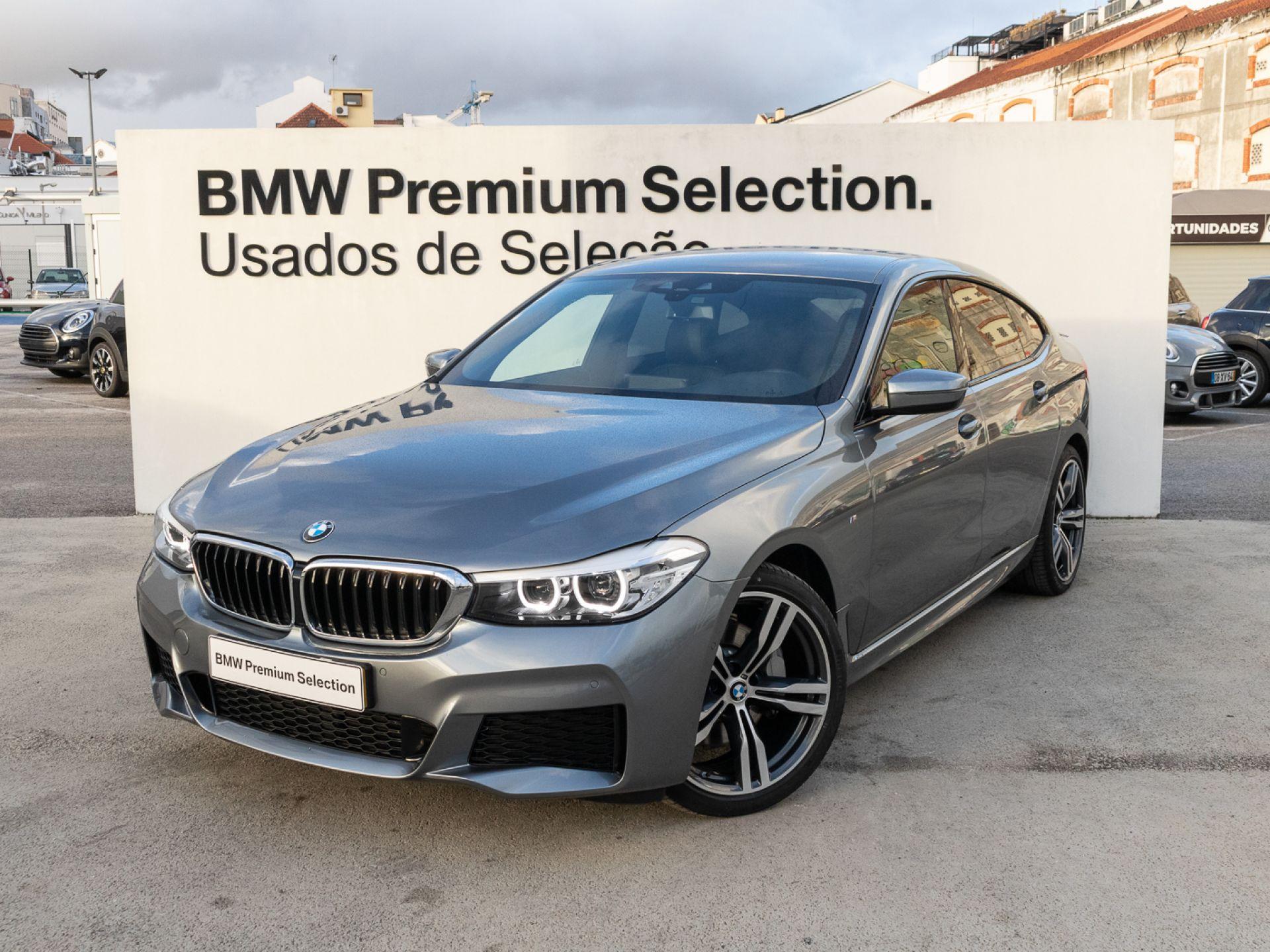 BMW Serie 6 620d Gran Turismo Auto Pack M segunda mão Lisboa