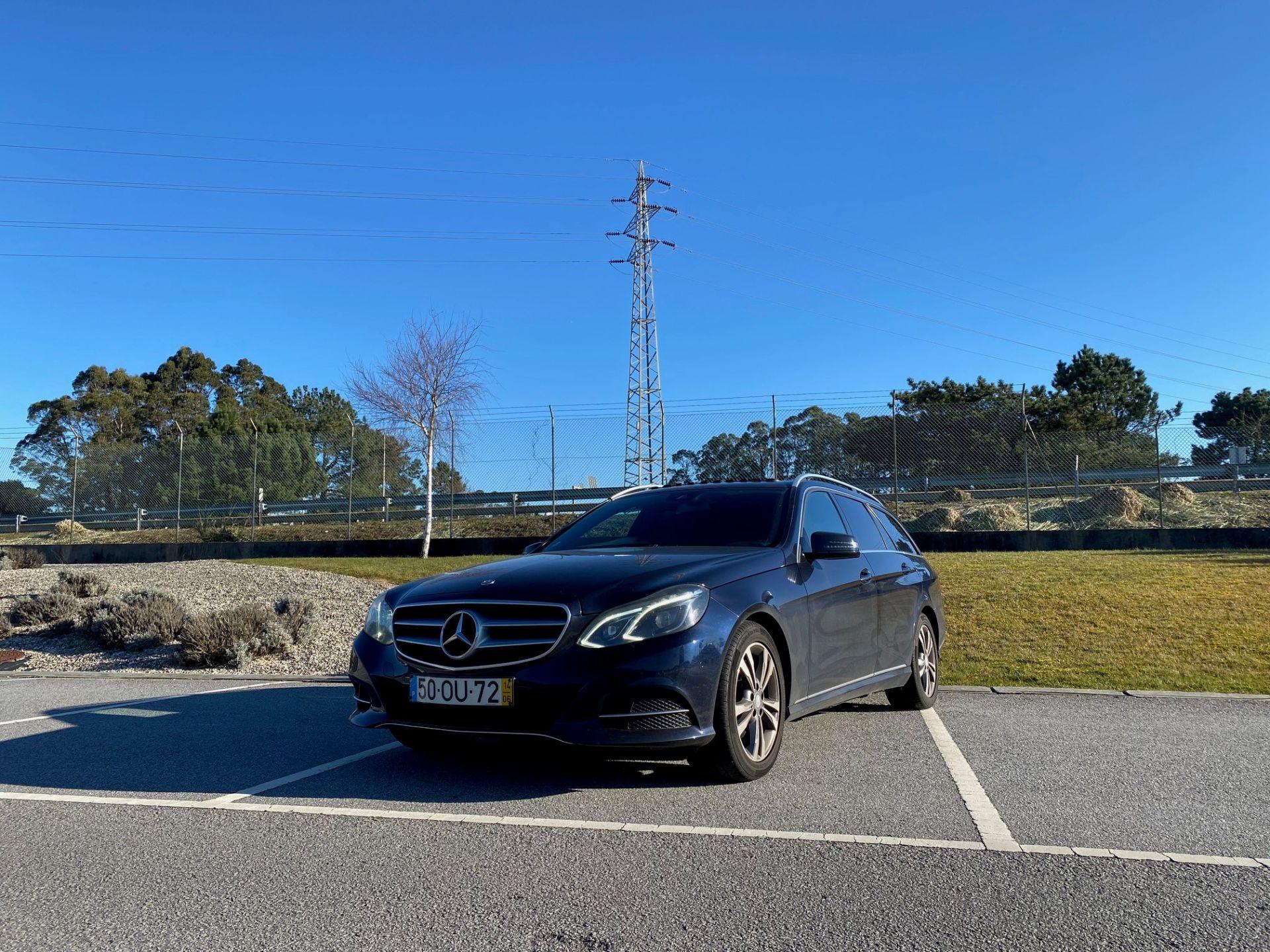 Mercedes Benz Classe E 250 BlueTEAuto segunda mão Porto