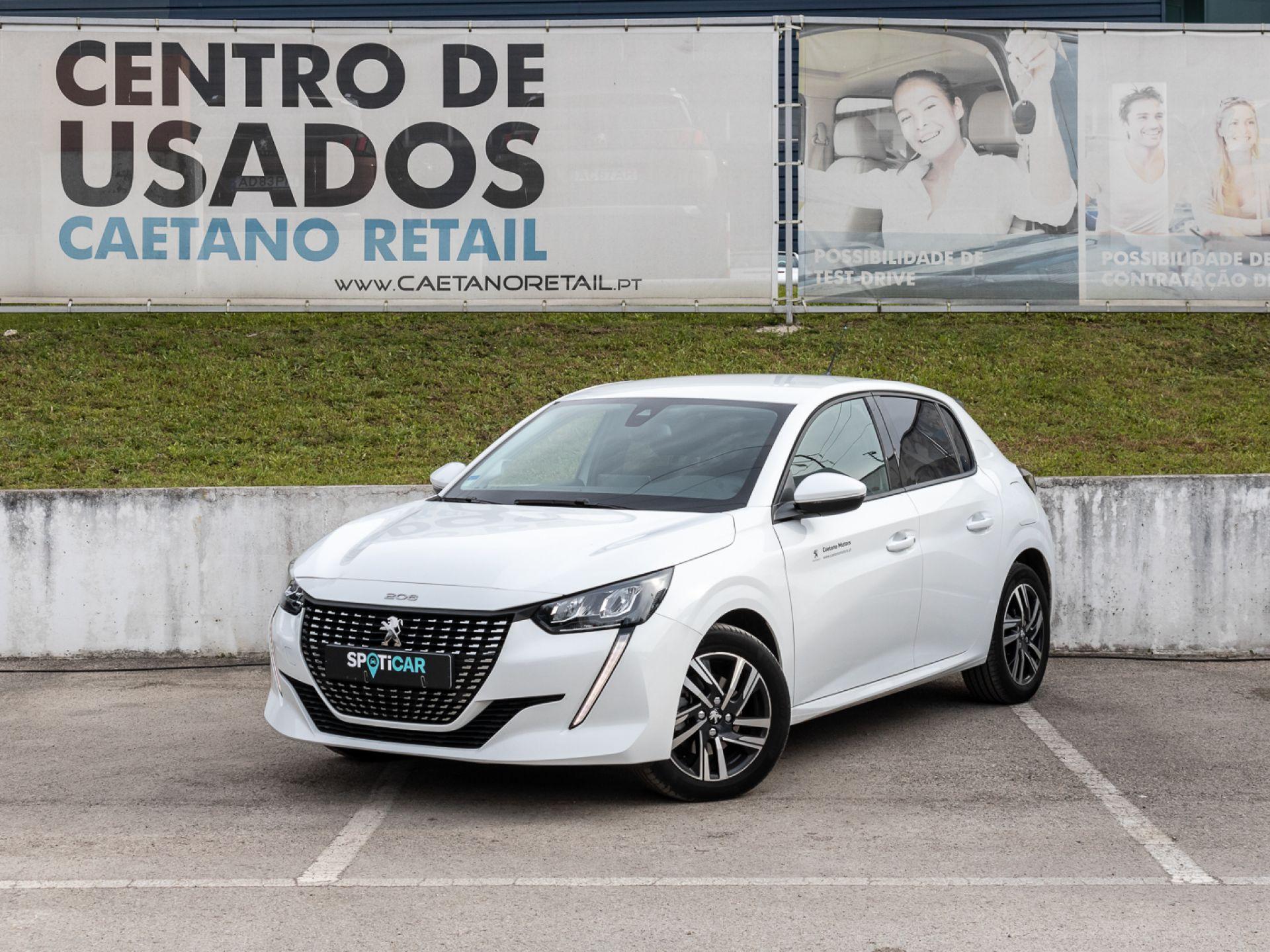 Peugeot 208 1.2 PureTech 100cv Allure segunda mão Setúbal