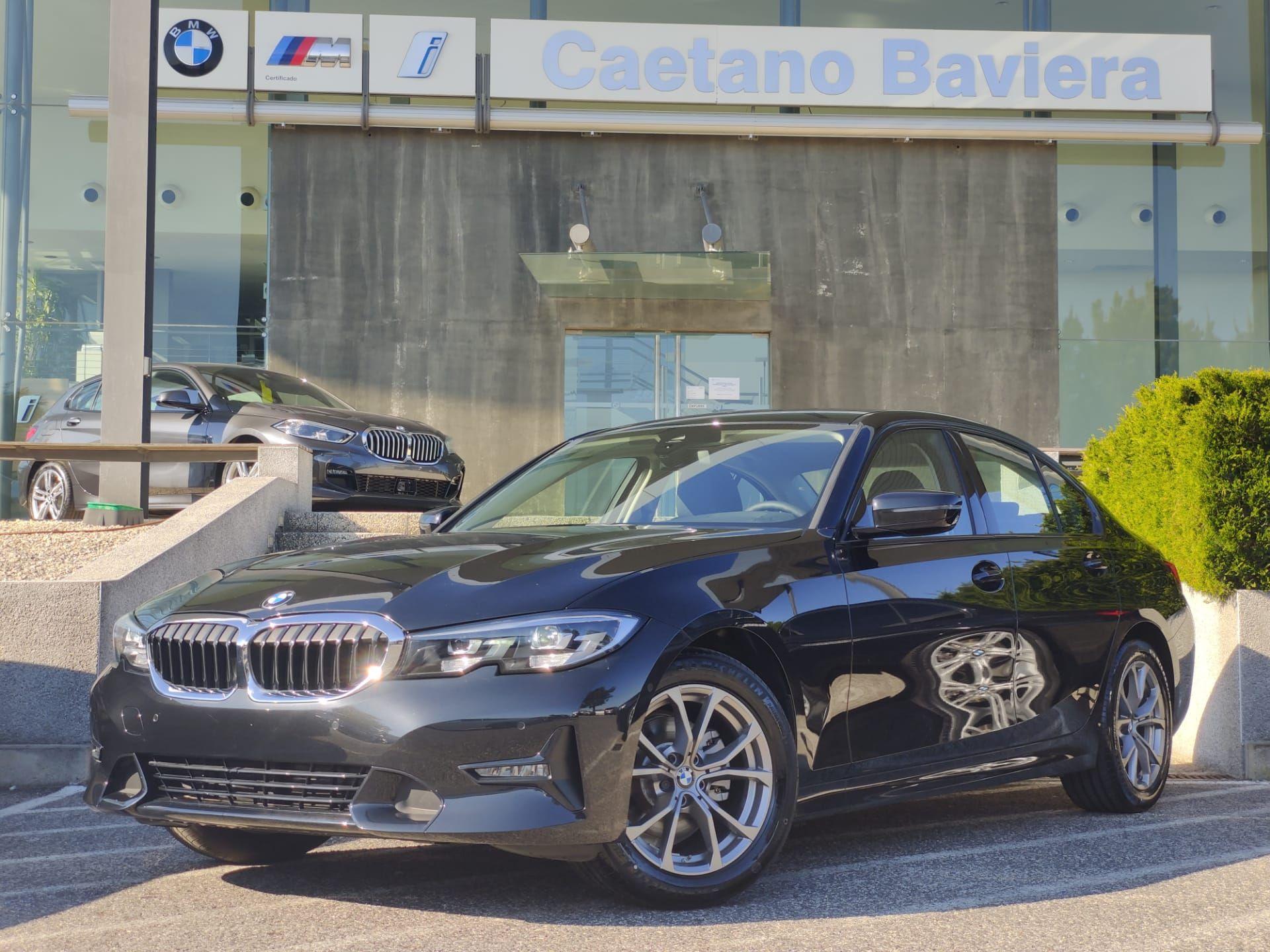 BMW Serie 3 320d Auto Line Sport segunda mão Lisboa