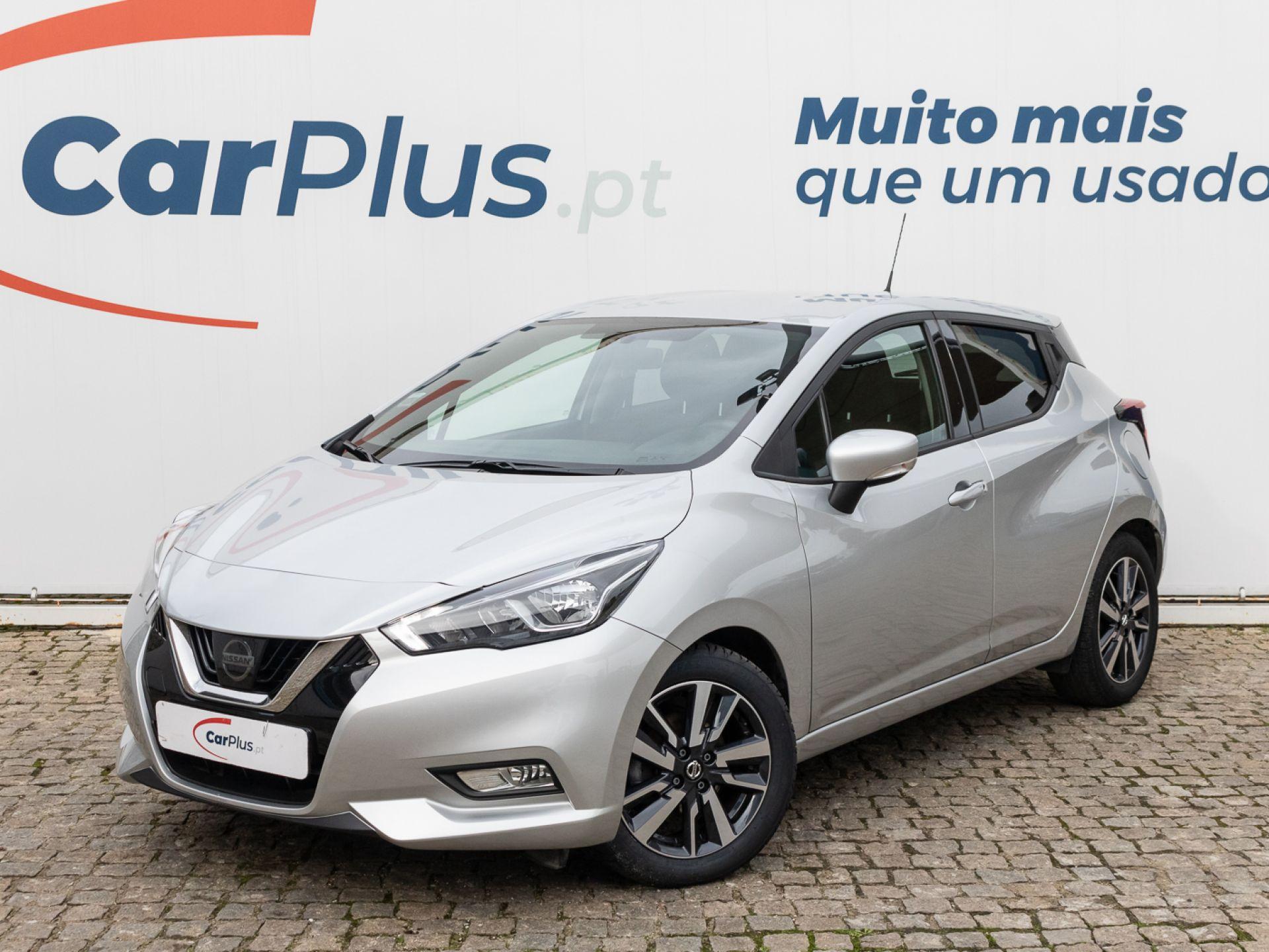 Nissan Micra IG-T 100CV E6D Acenta segunda mão Lisboa