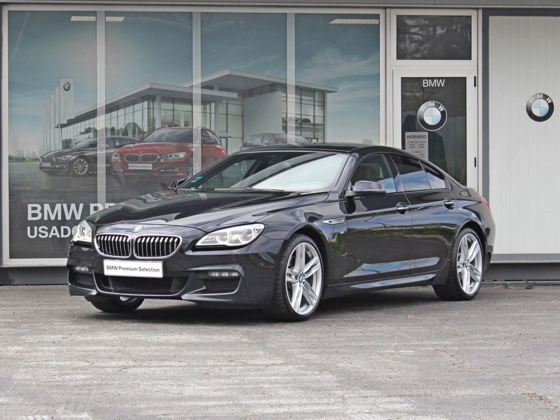 BMW Serie 6 640d Gran Coupe M Sport Edition segunda mão Porto