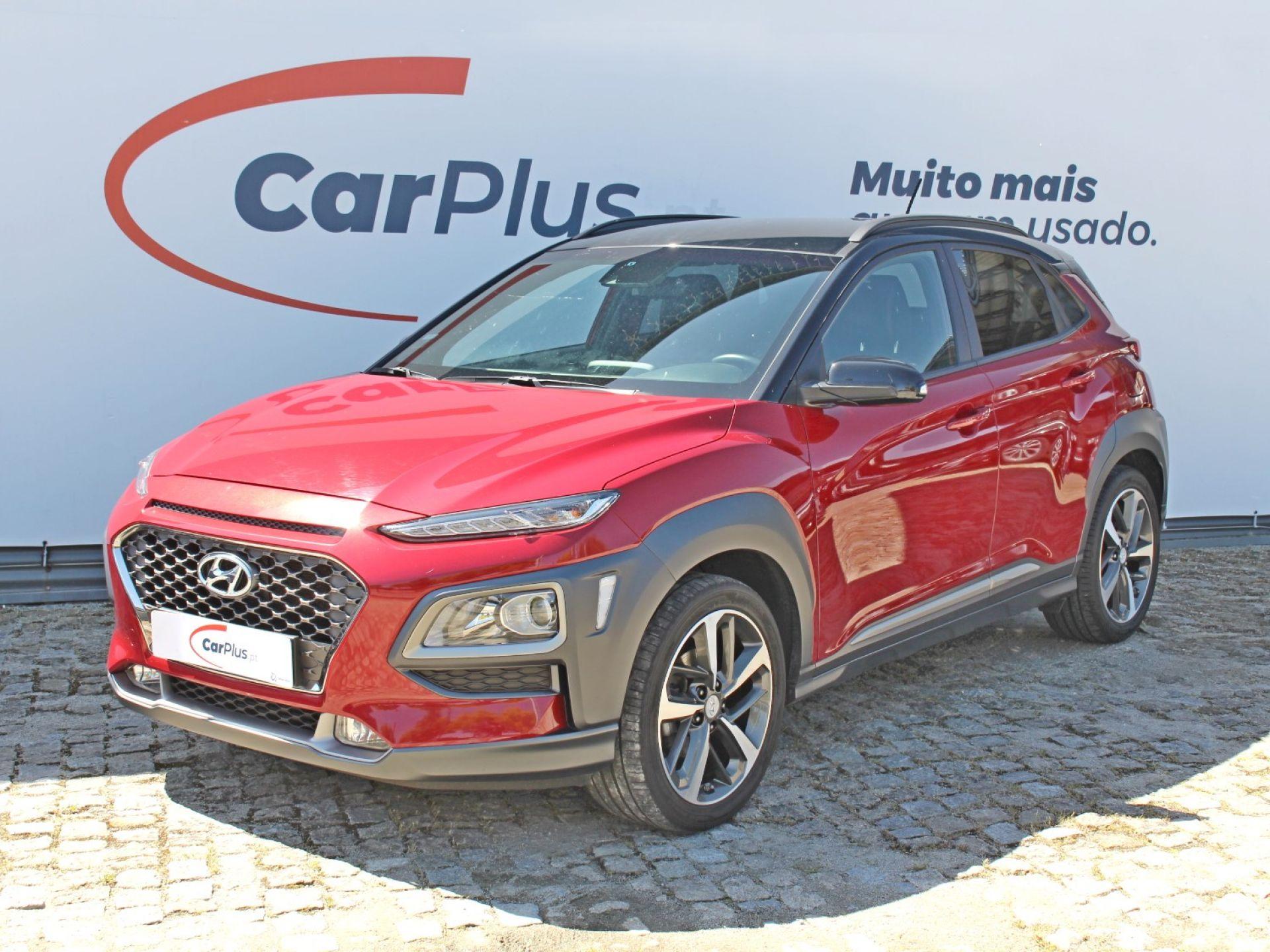 Hyundai Kauai 1.0 T-GDi Premium Pele e Tecido Vermelho segunda mão Porto