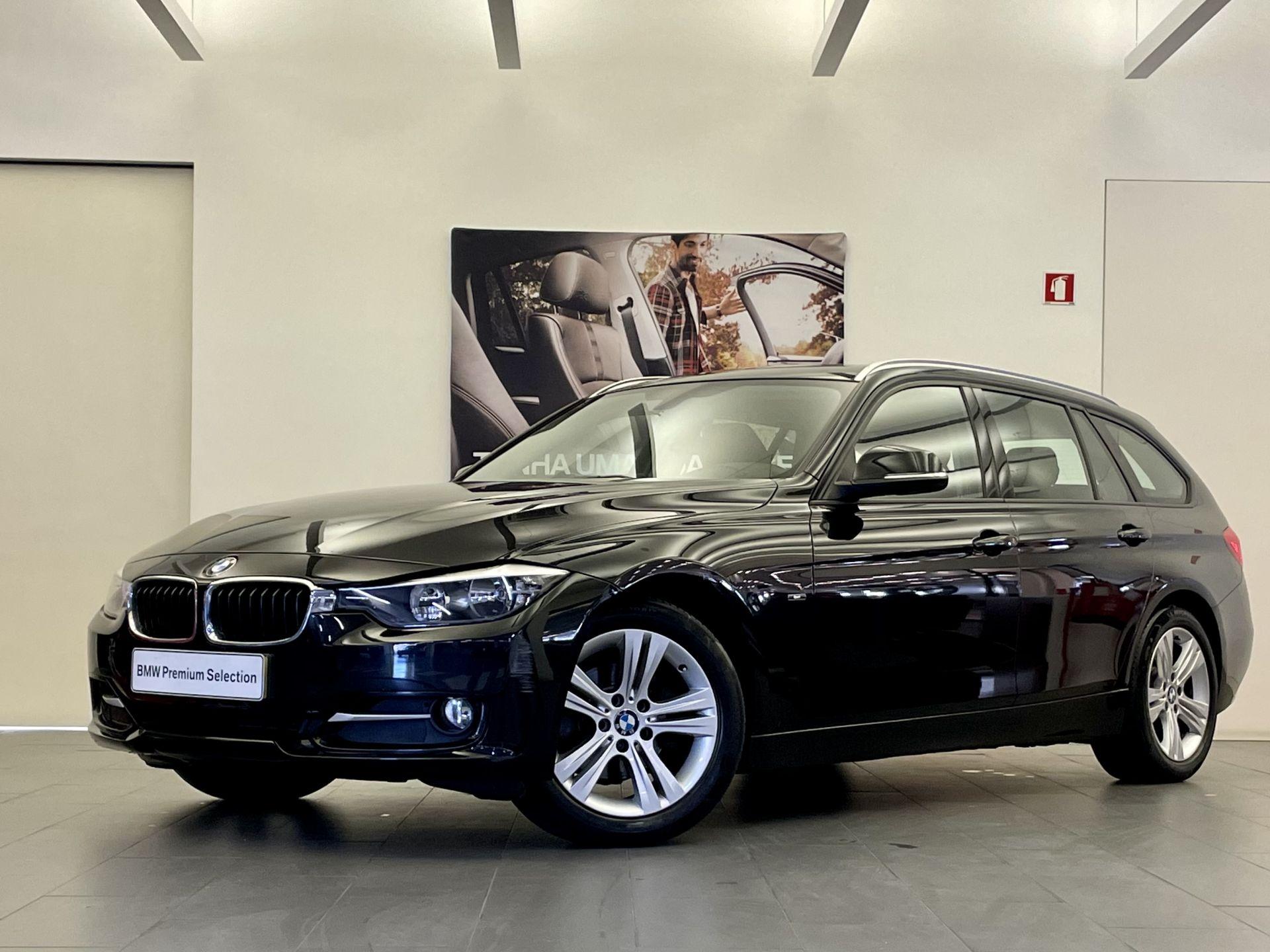 BMW Serie 3 318d Touring Line Sport usada Lisboa