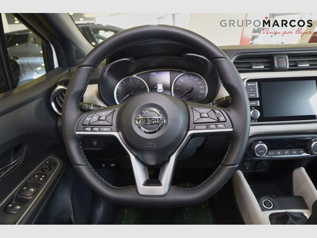 Nissan Micra IG-T 68 kW (92 CV) E6D-F N-Design Black