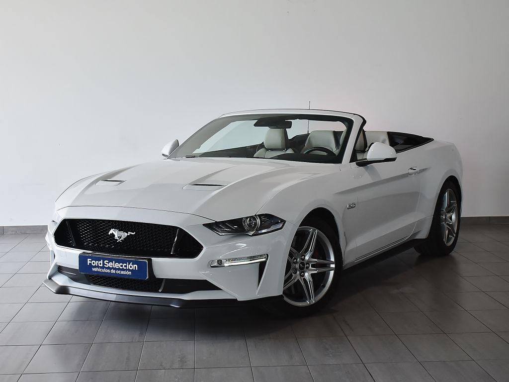 Ford Mustang NUEVO MUSTANG CONVERTIBLE GT 5.0 Ti-VCT V8 336KW (450CV) Automßtico 10v. Euro 6.2