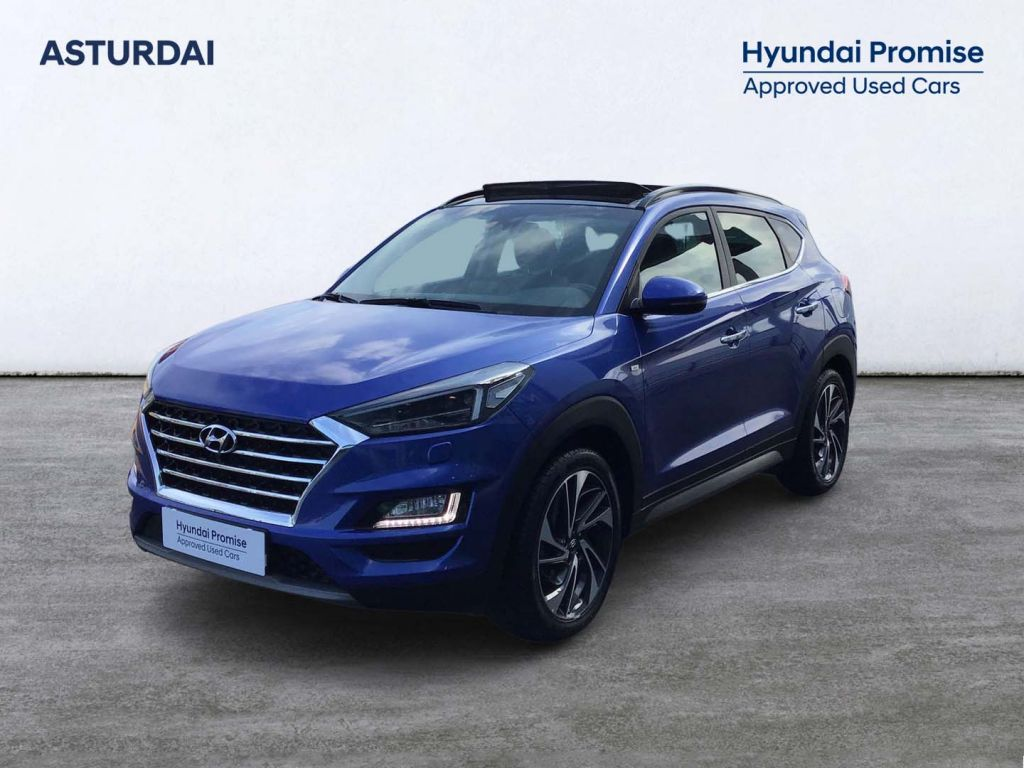 Hyundai Tucson 2.0 CRDI 48V STYLE AUTO 4WD 185 5P